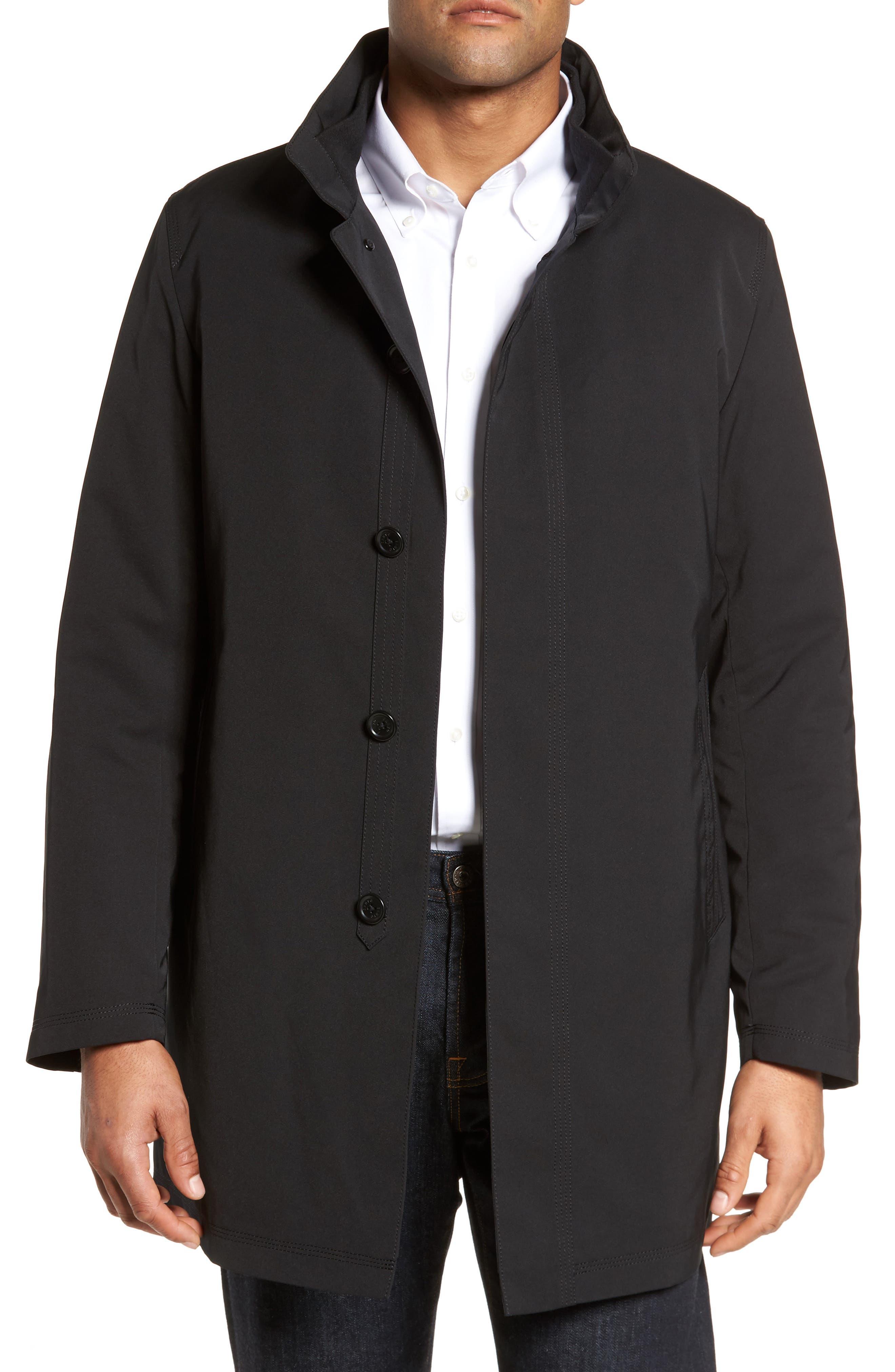 Men's coat hood
