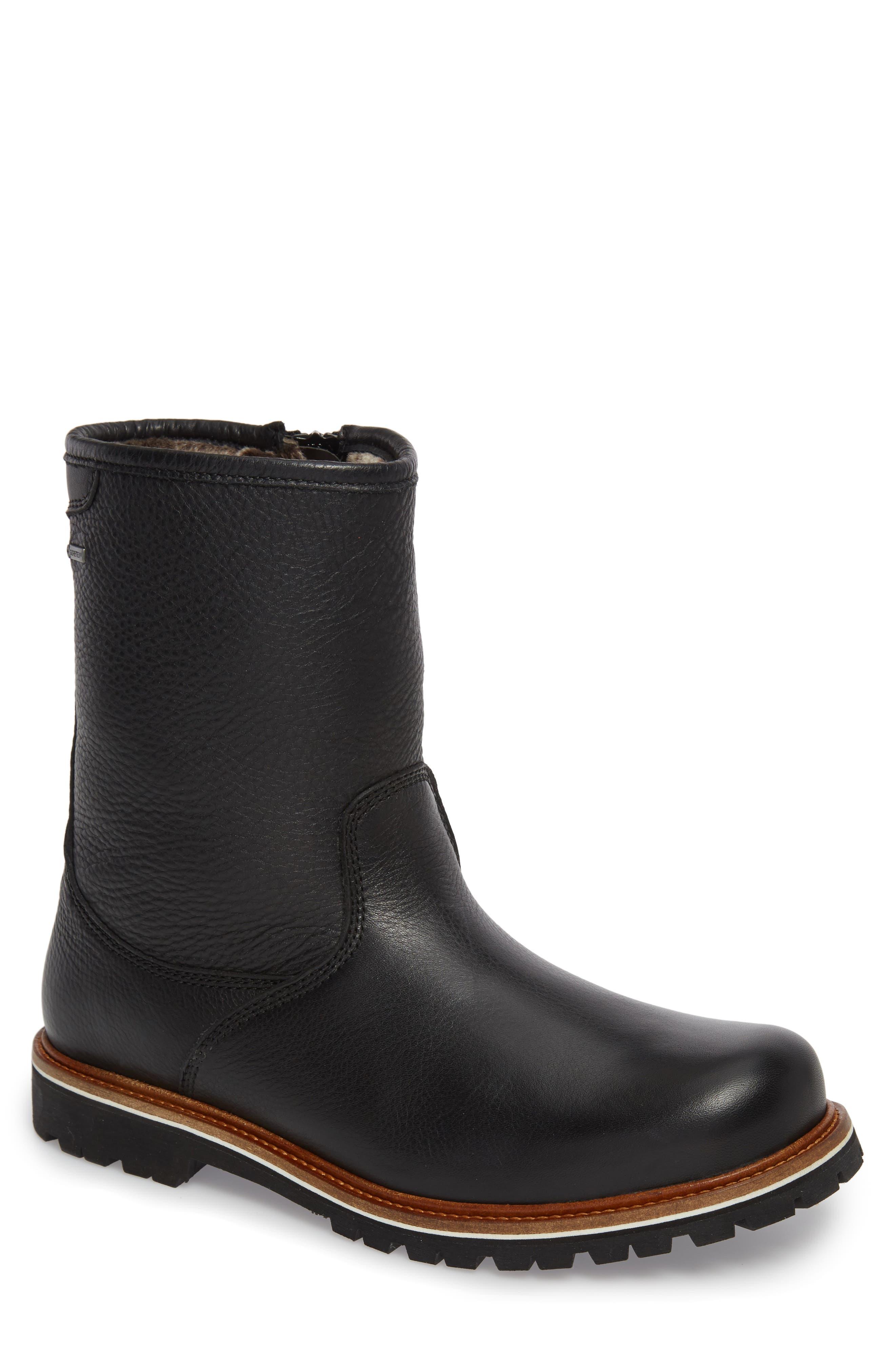Samuel Hubbard Snow Lodge Waterproof Gore-Tex® Genuine Shearling Lined Boot (Men)