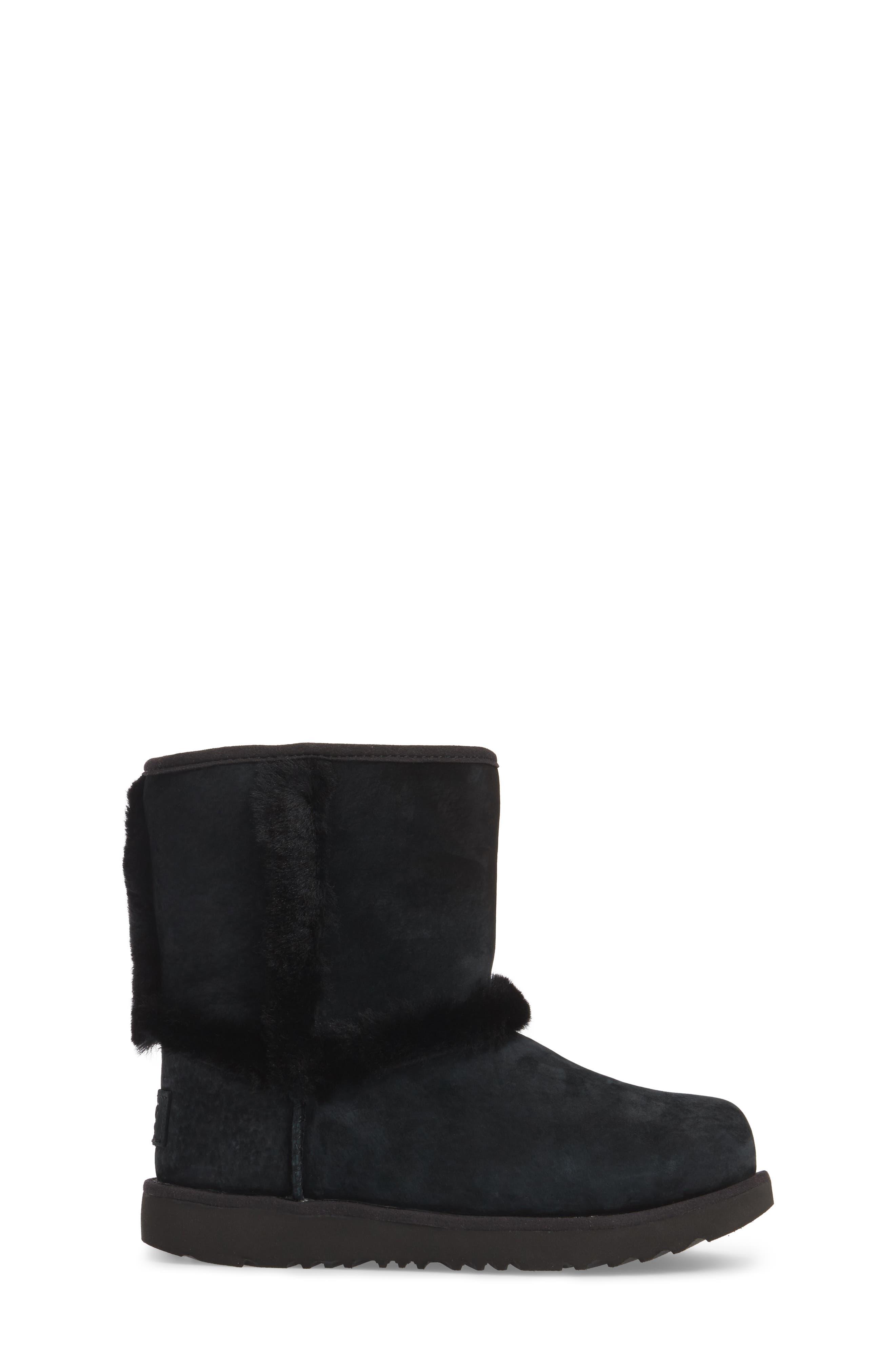 Hadley II Waterproof Boot,                             Alternate thumbnail 3, color,                             Black