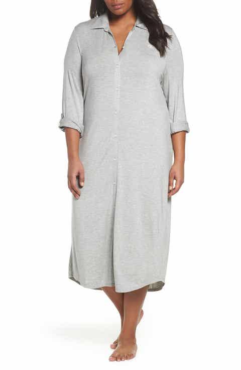 Lauren Ralph Lauren Long Night Shirt (Plus Size) Reviews
