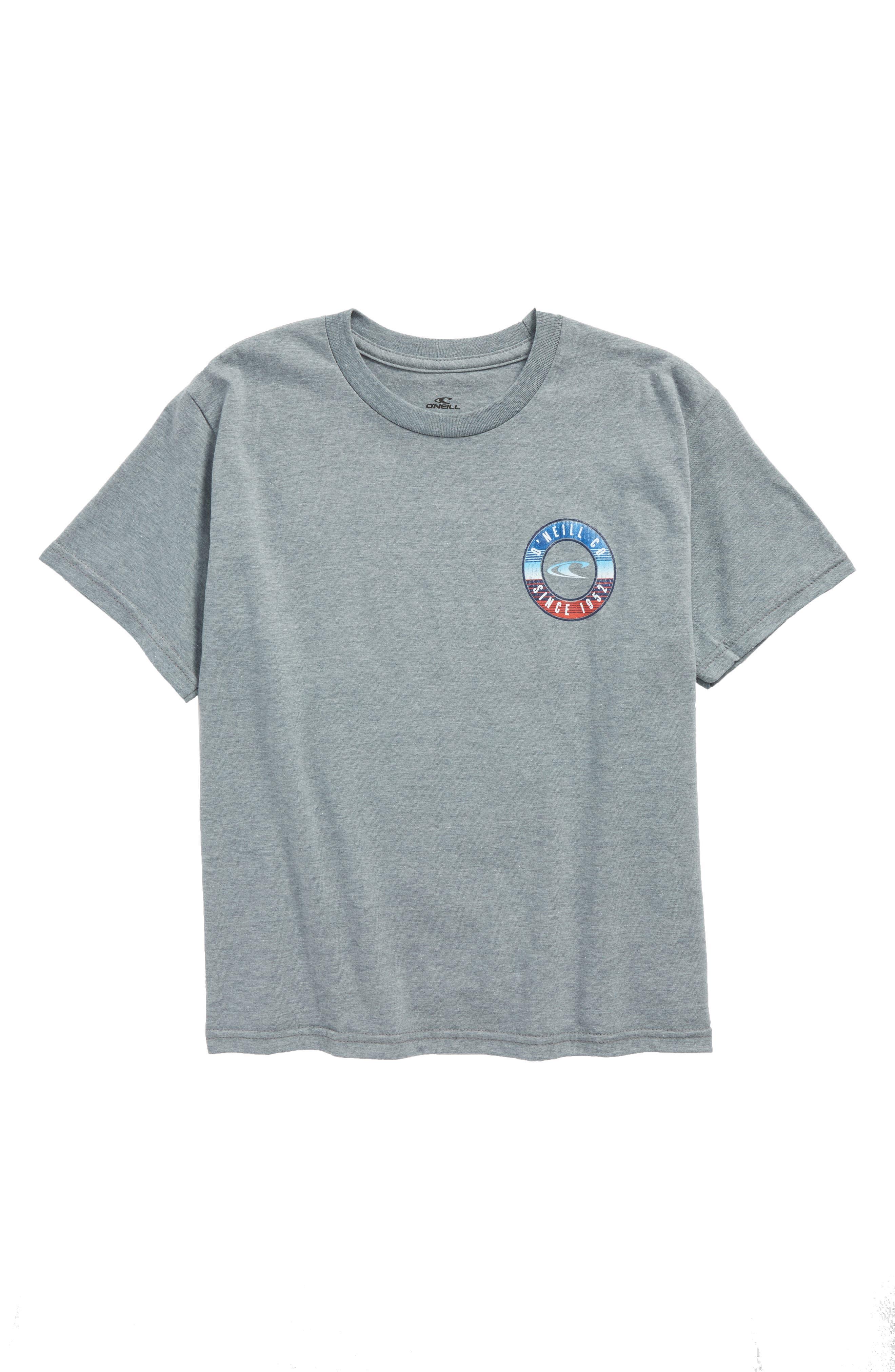 Supply Graphic T-Shirt,                             Main thumbnail 1, color,                             Medium Heather Grey