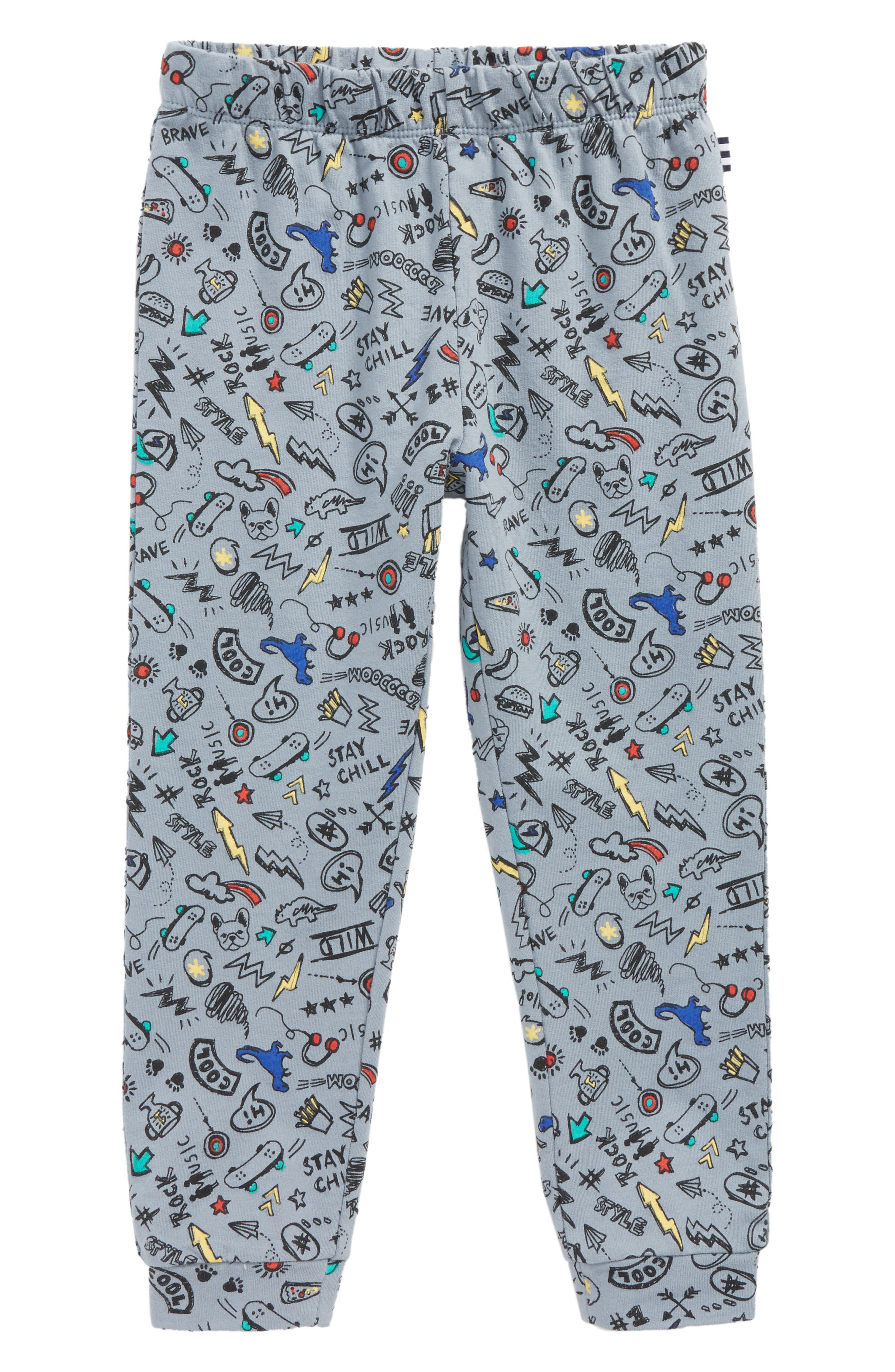 Splendid Grafitti Print Jogger Pants (Todder Boys & Little Boys)