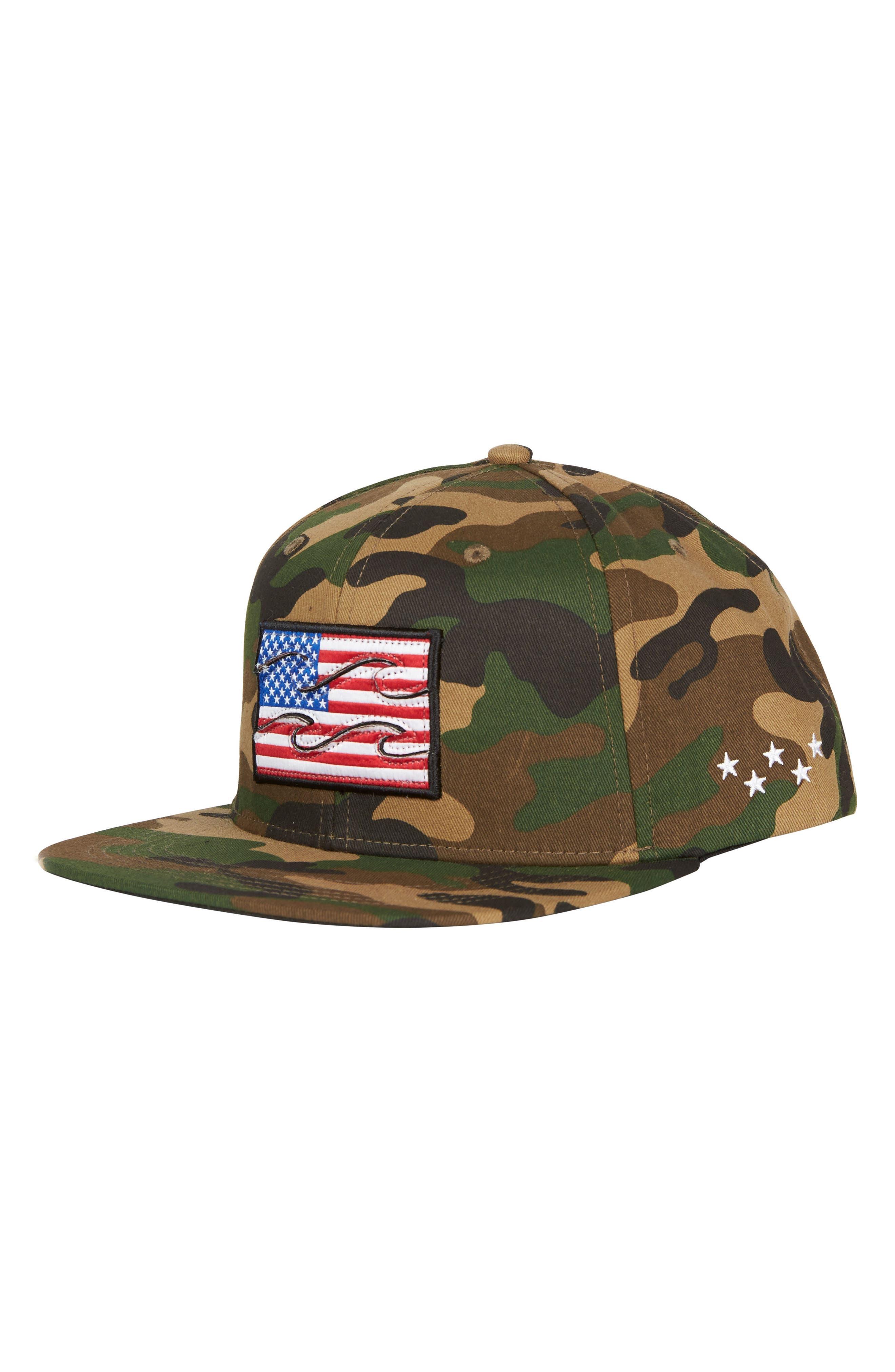 Main Image - Billabong Texas Native Snapback Cap