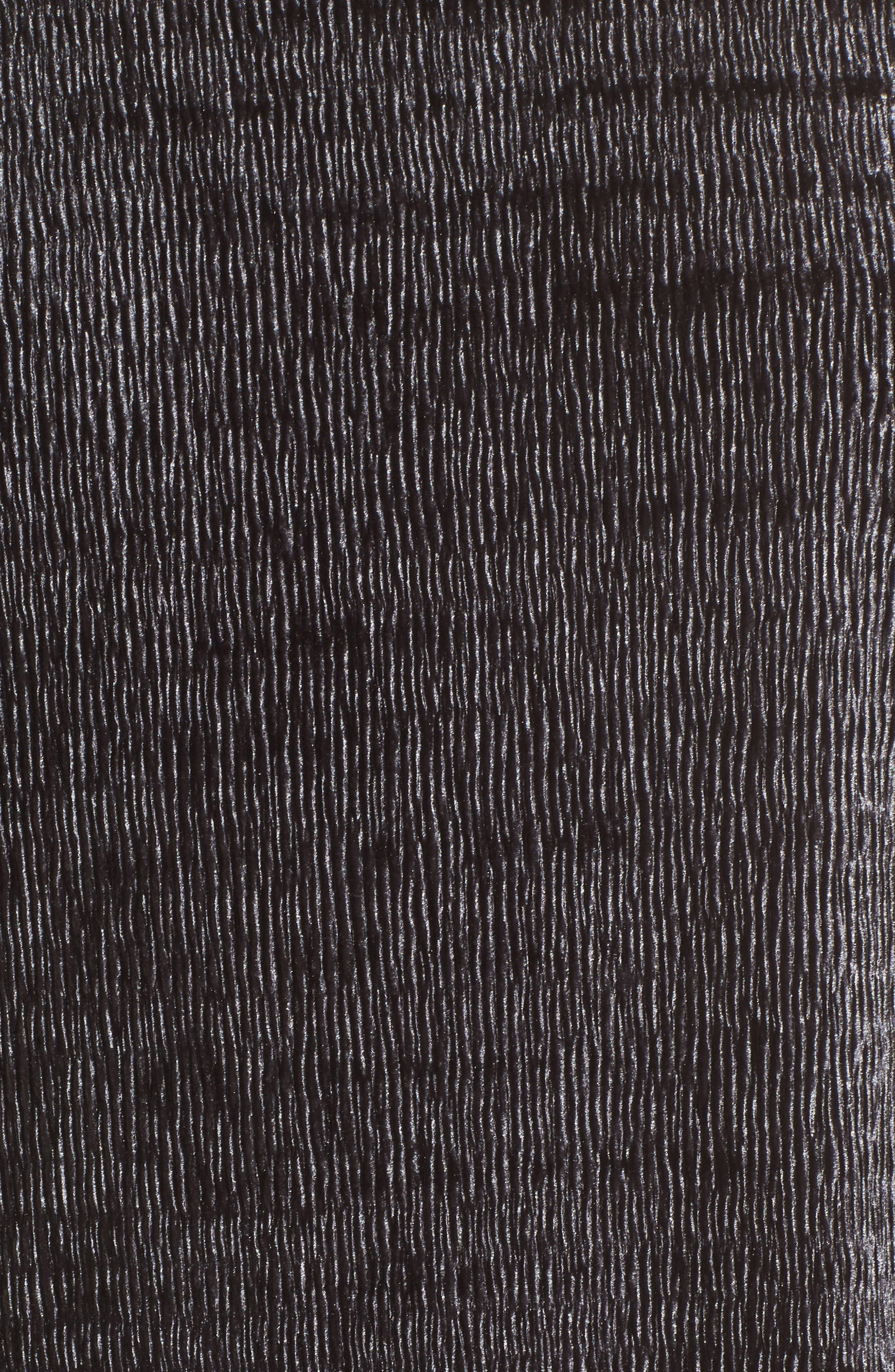 Velvet Tee,                             Alternate thumbnail 5, color,                             Dark Grey
