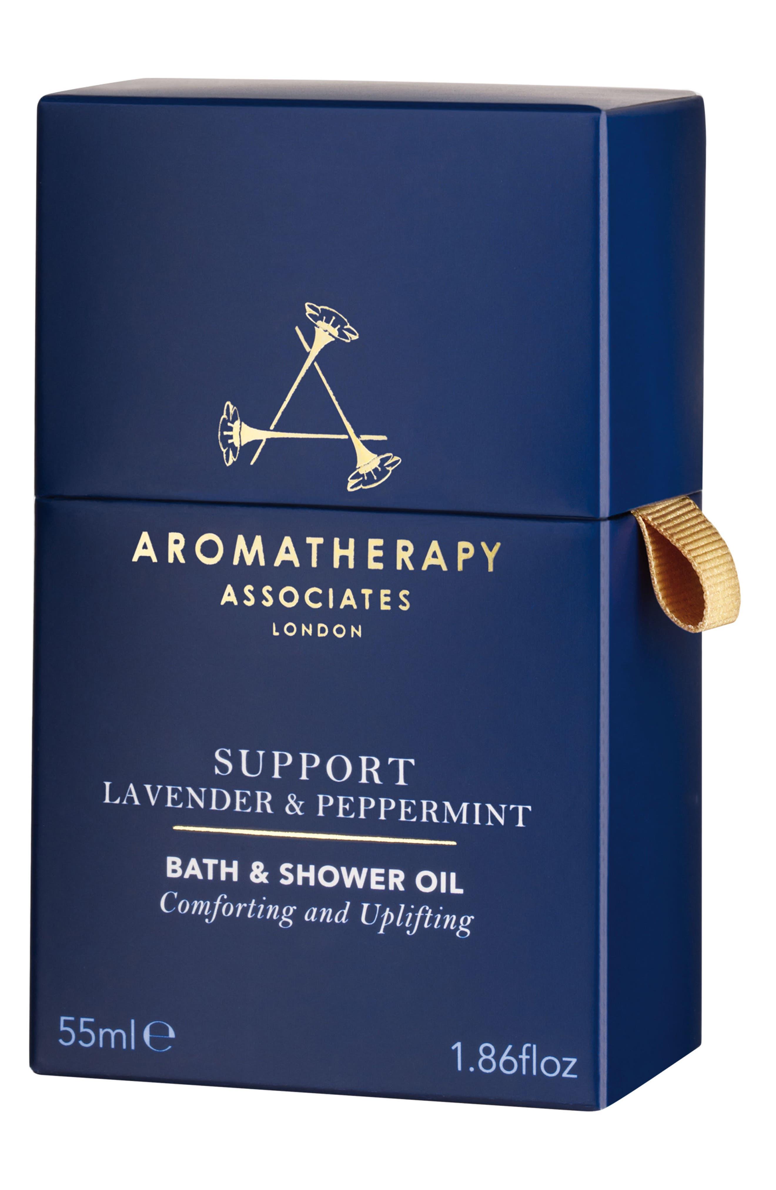 Support Lavender & Peppermint Bath & Shower Oil,                             Alternate thumbnail 3, color,                             Support Lavender Peppermint