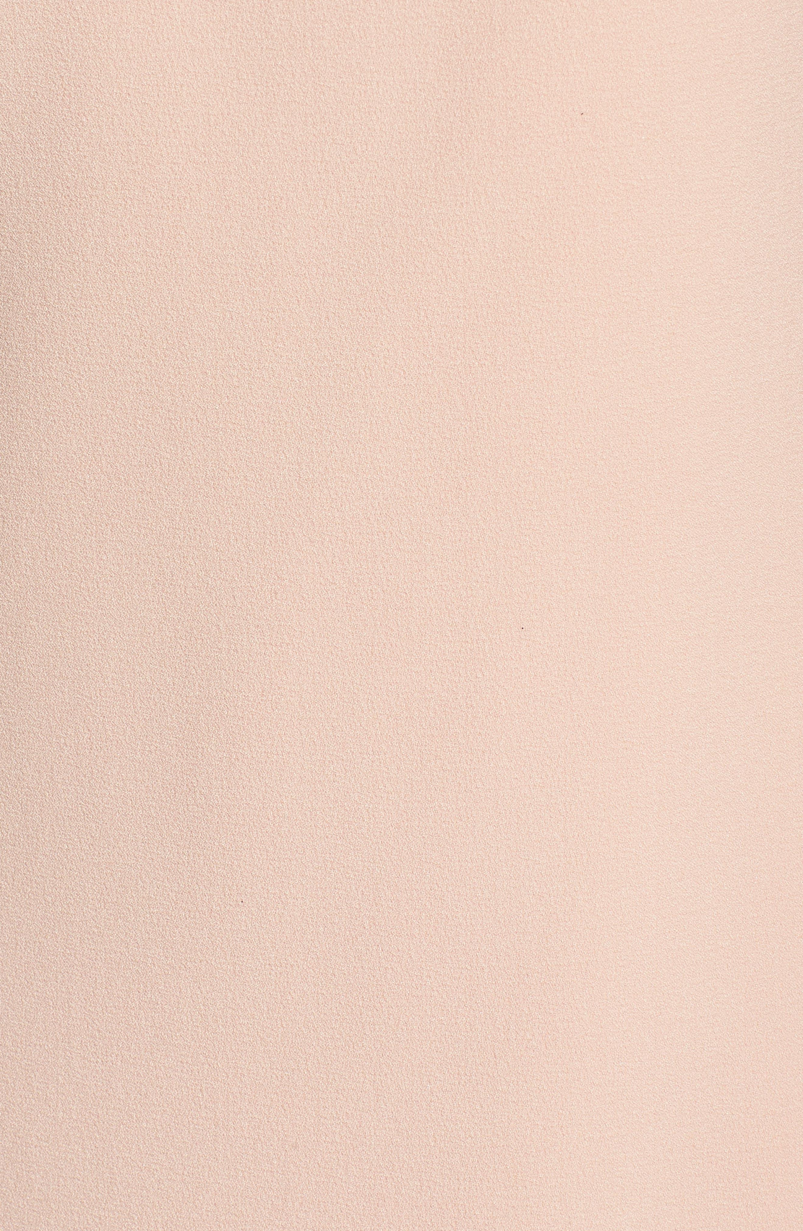 Bloused Sleeve Shift Dress,                             Alternate thumbnail 5, color,                             Blush