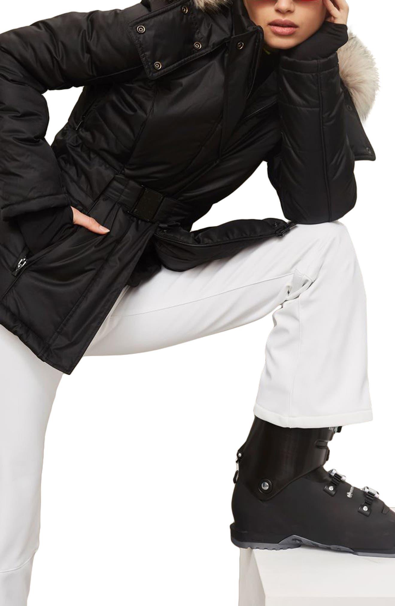 SNO Amazon Puffer Jacket,                             Alternate thumbnail 3, color,                             Black