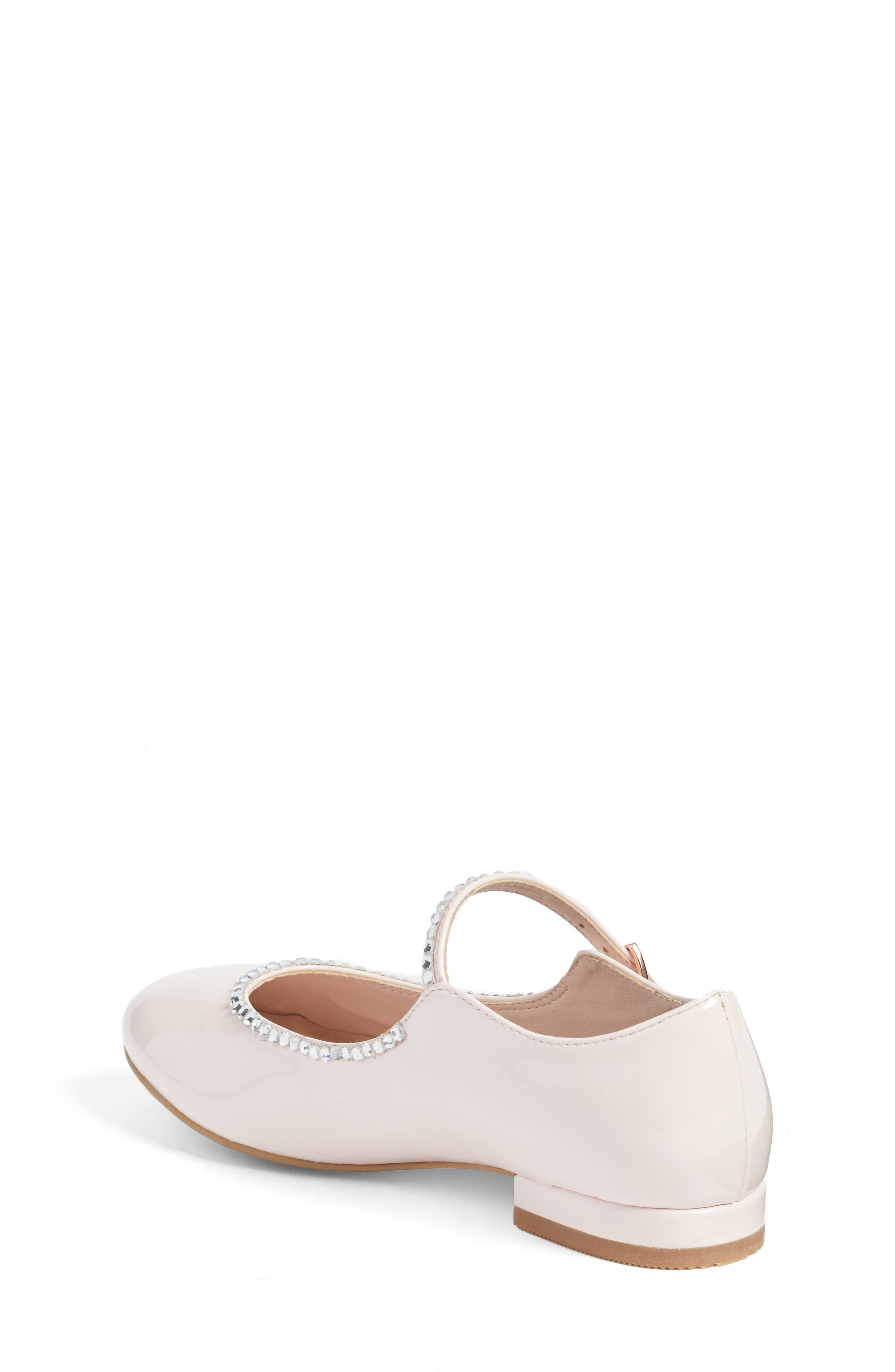 Harlow Embellished Mary Jane,                             Alternate thumbnail 2, color,                             Pale Pink Faux Patent