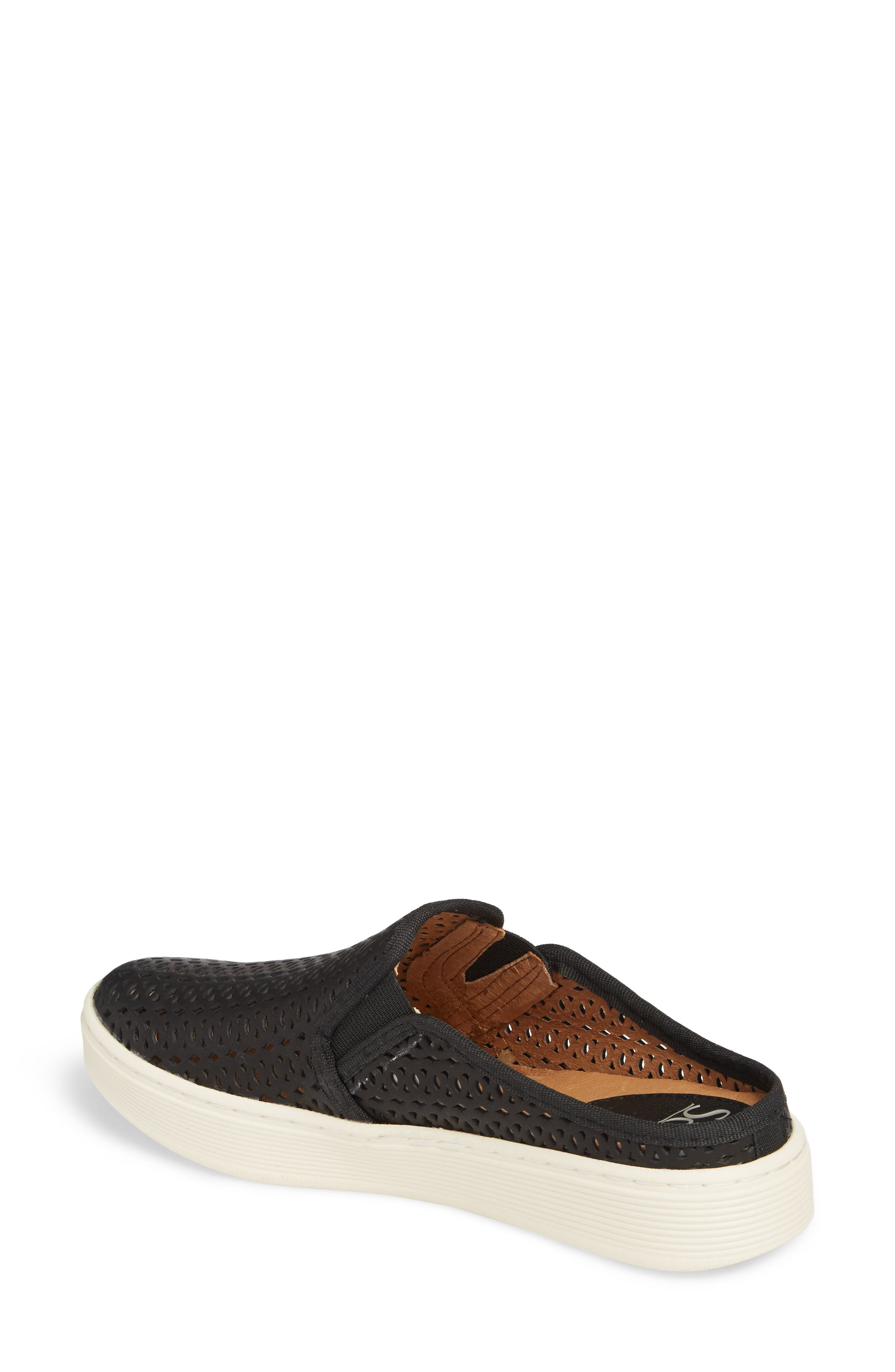 Somers II Sneaker,                             Alternate thumbnail 2, color,                             Black Leather