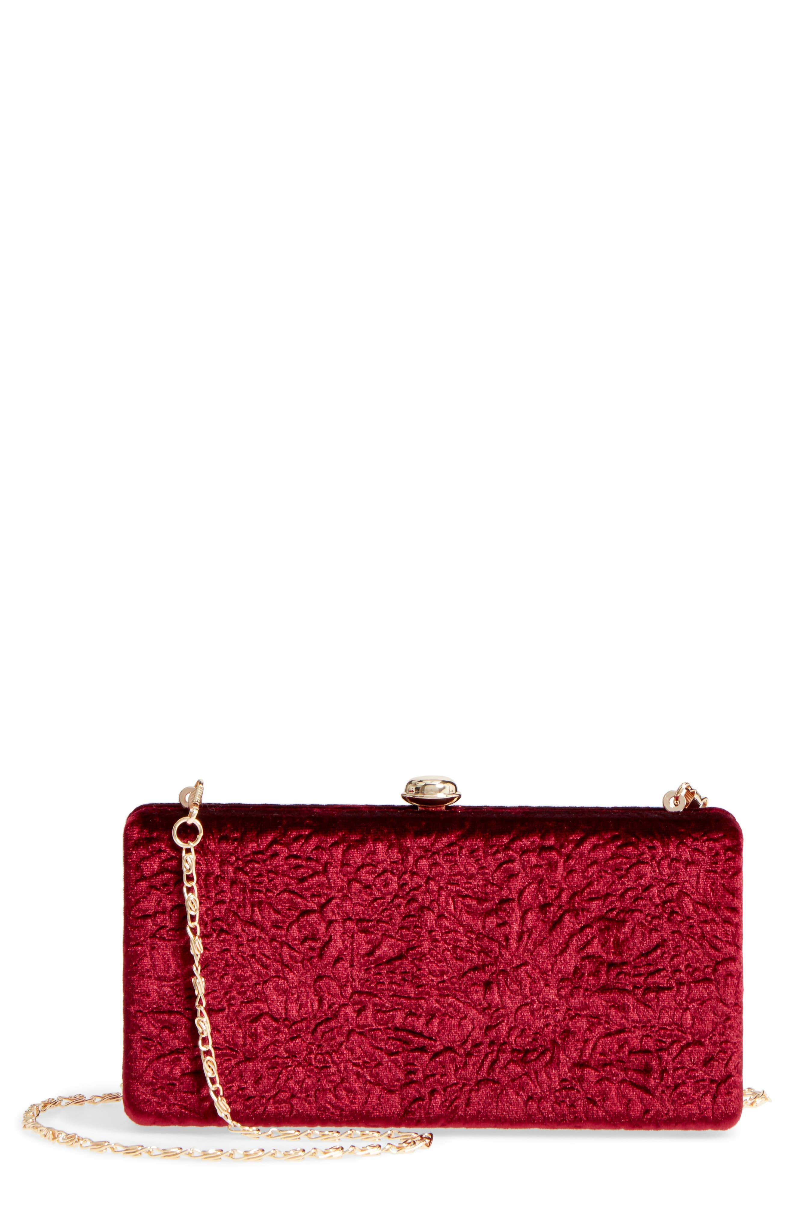 Alternate Image 1 Selected - Sole Society Lyn Box Clutch