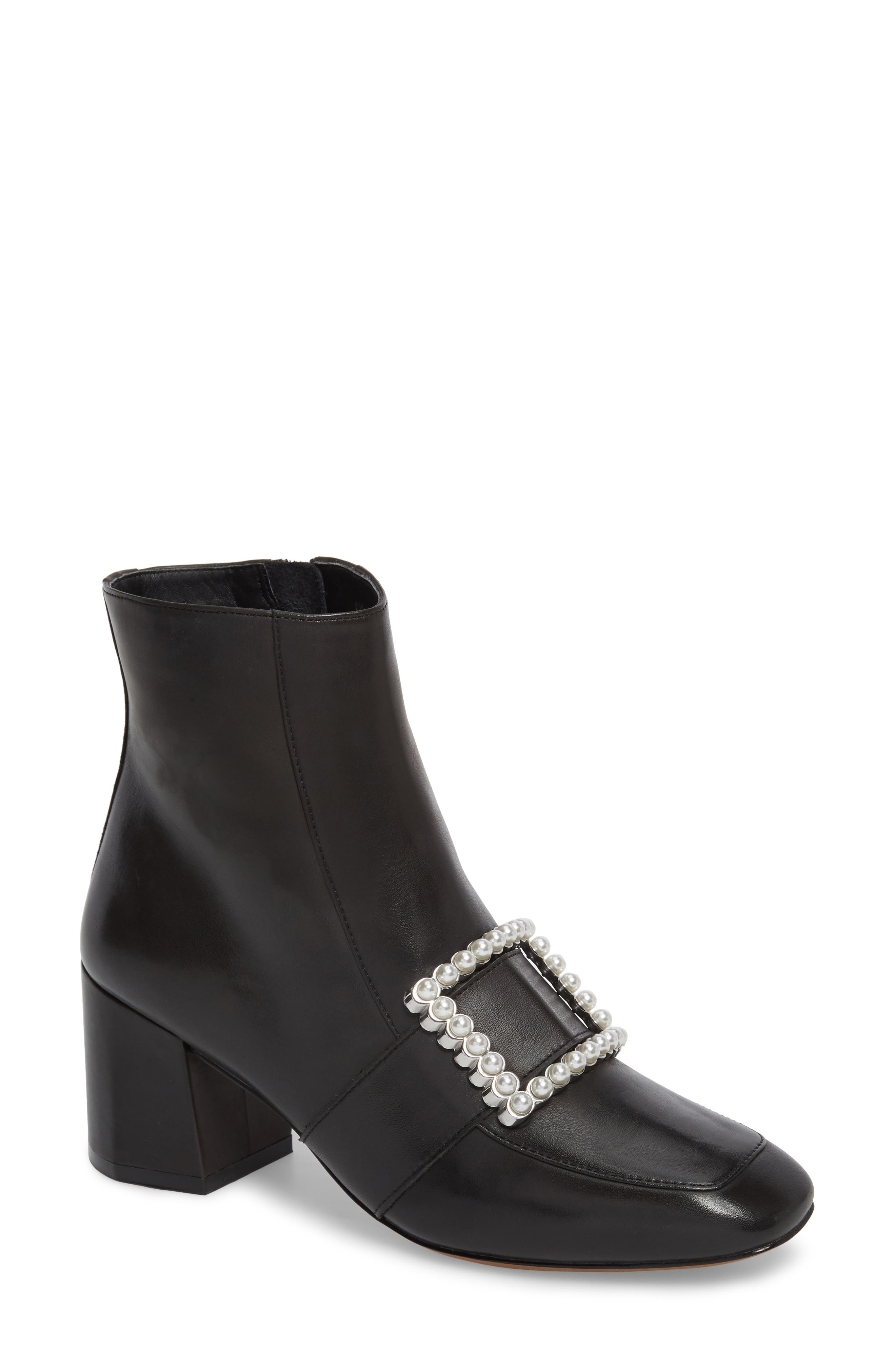 Main Image - Linea Paolo Cadence Buckle Bootie (Women)
