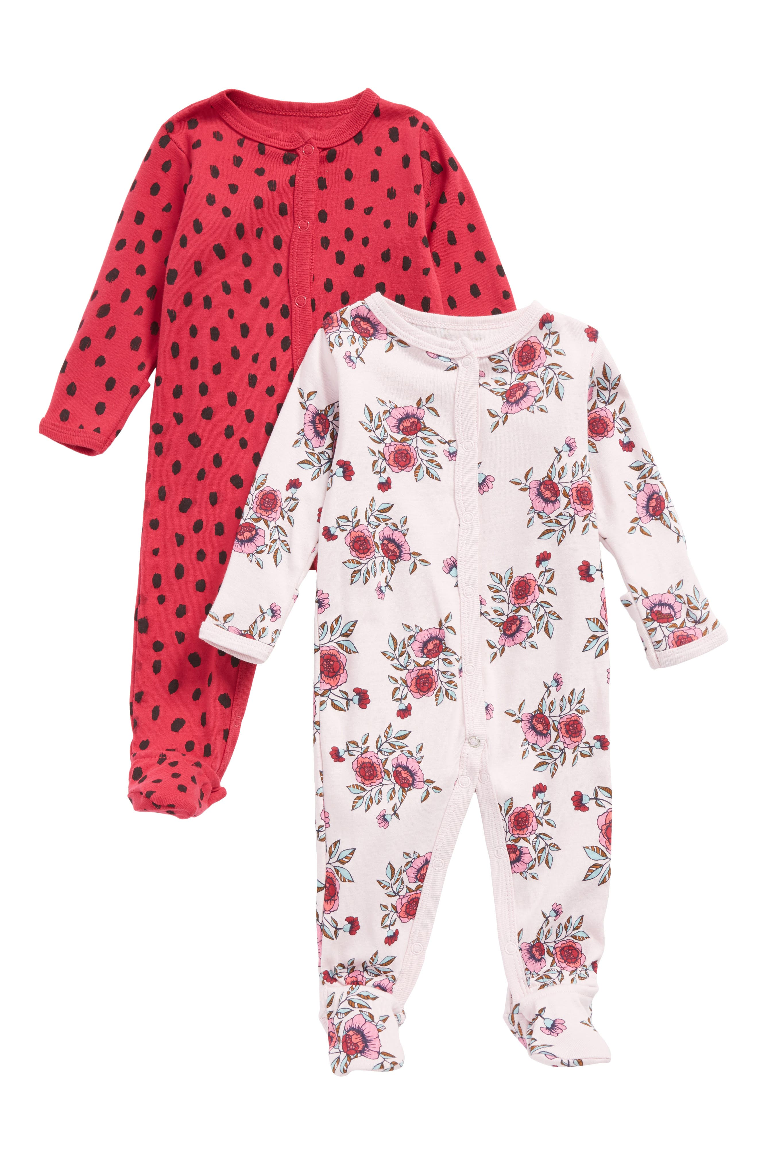 Rosie Pope Set of 2 Footies (Baby Girls)