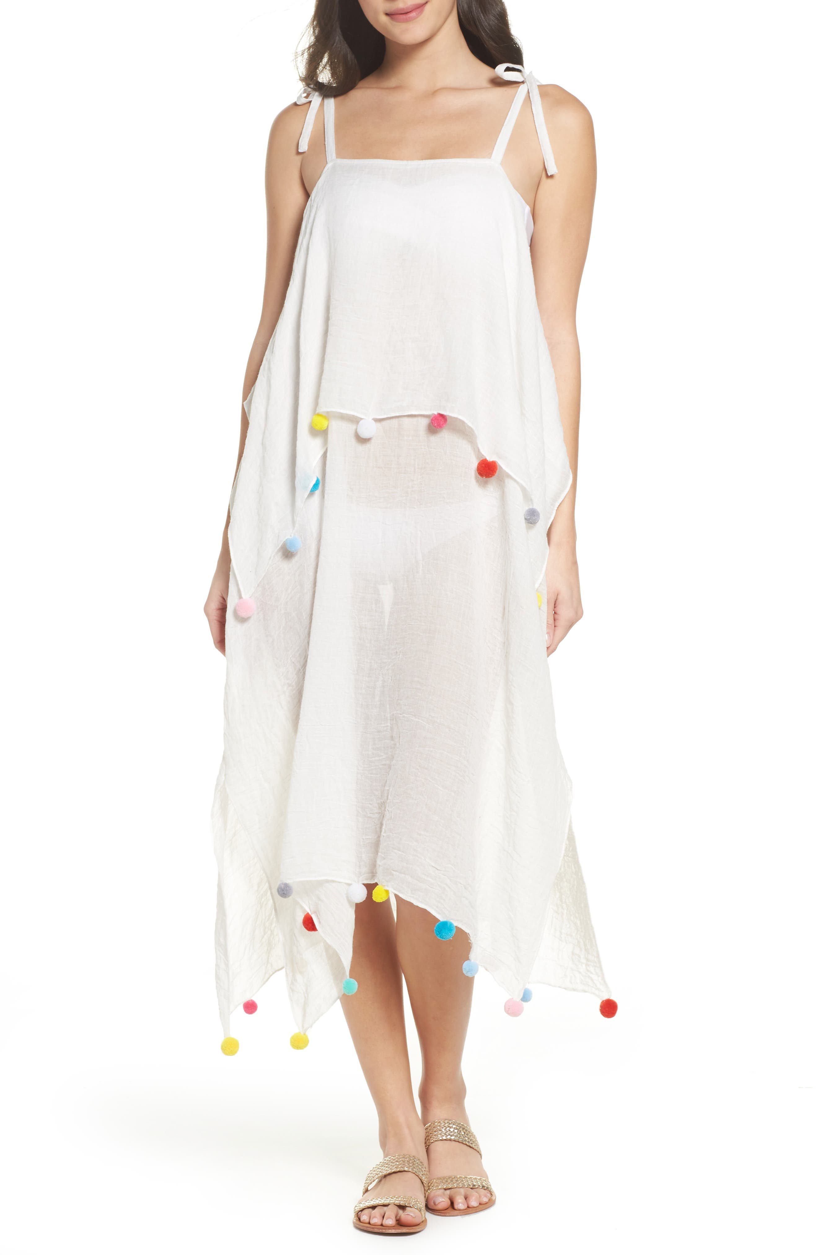 Day to Night Cover-Up Dress,                         Main,                         color, White