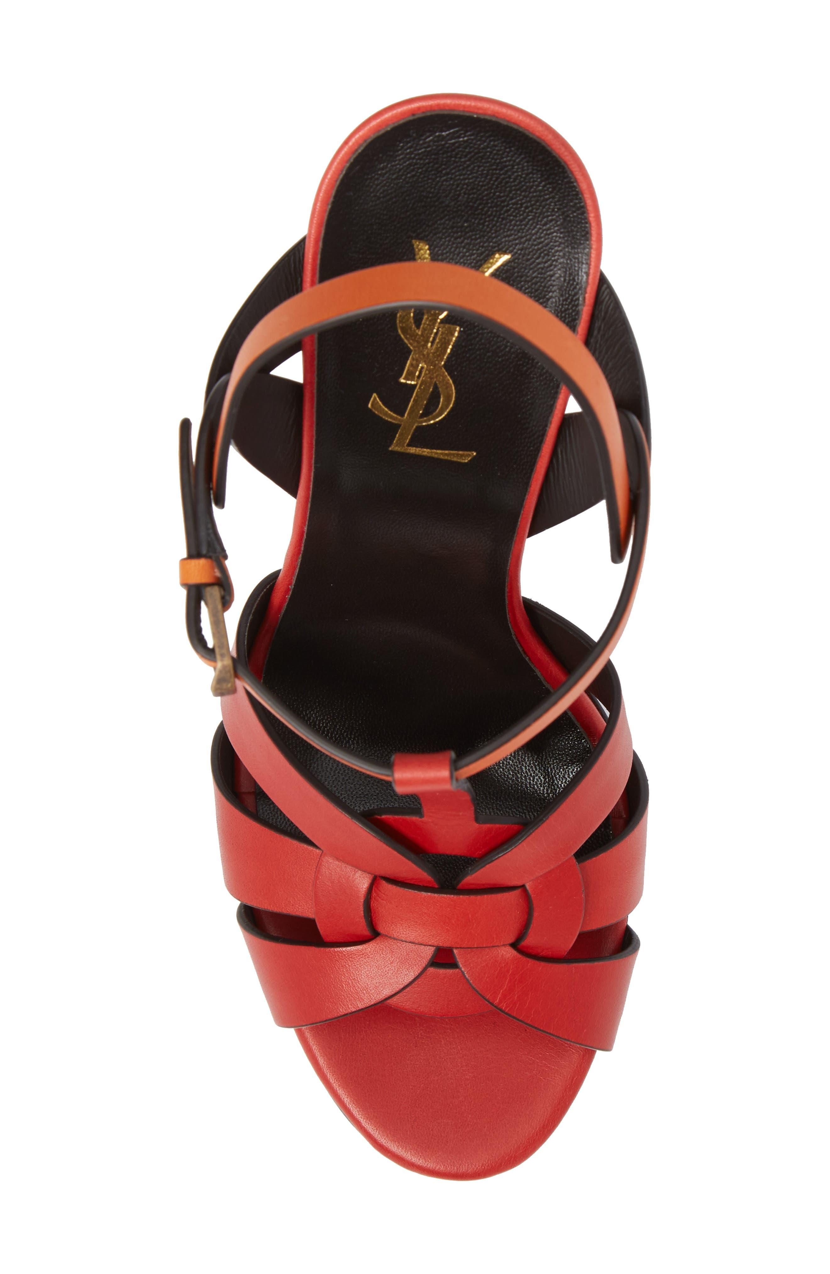 Alternate Image 5  - Saint Laurent Tribute T-Strap Platform Sandal (Women)
