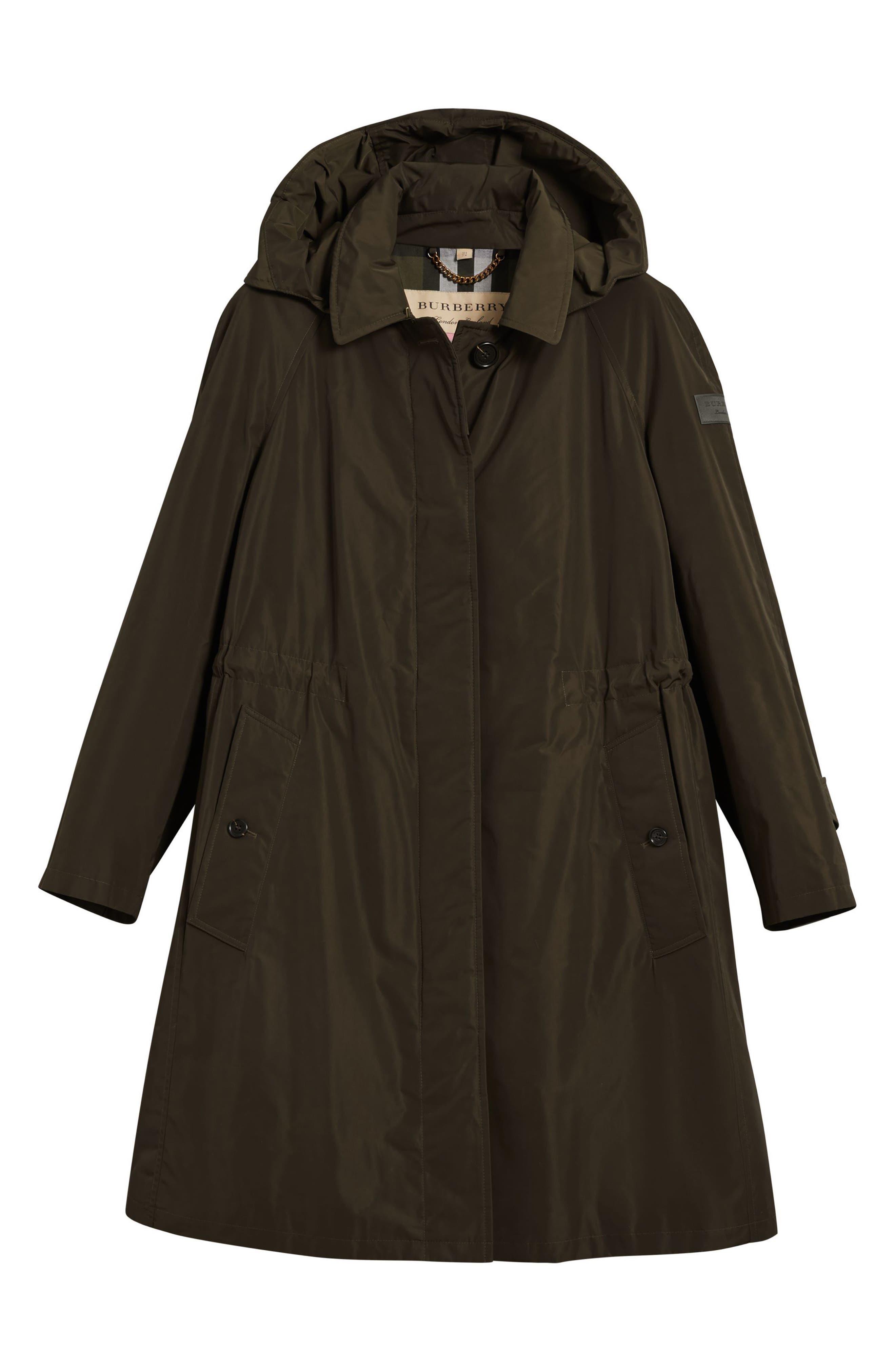 Alternate Image 5  - Burberry Tringford Waterproof Hooded Coat