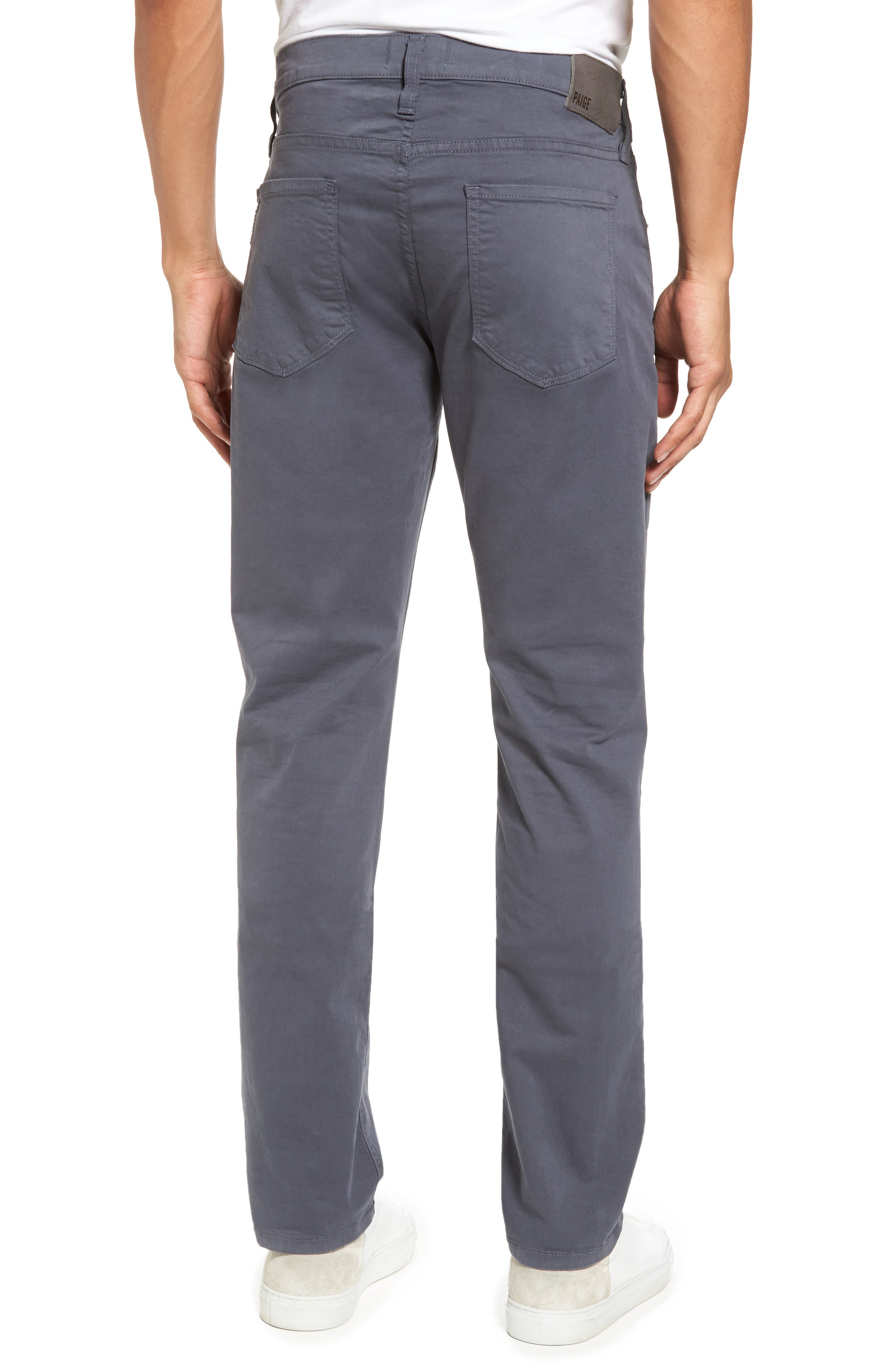 Federal Slim Straight Leg Twill Pants,                             Alternate thumbnail 2, color,                             Moon Shade
