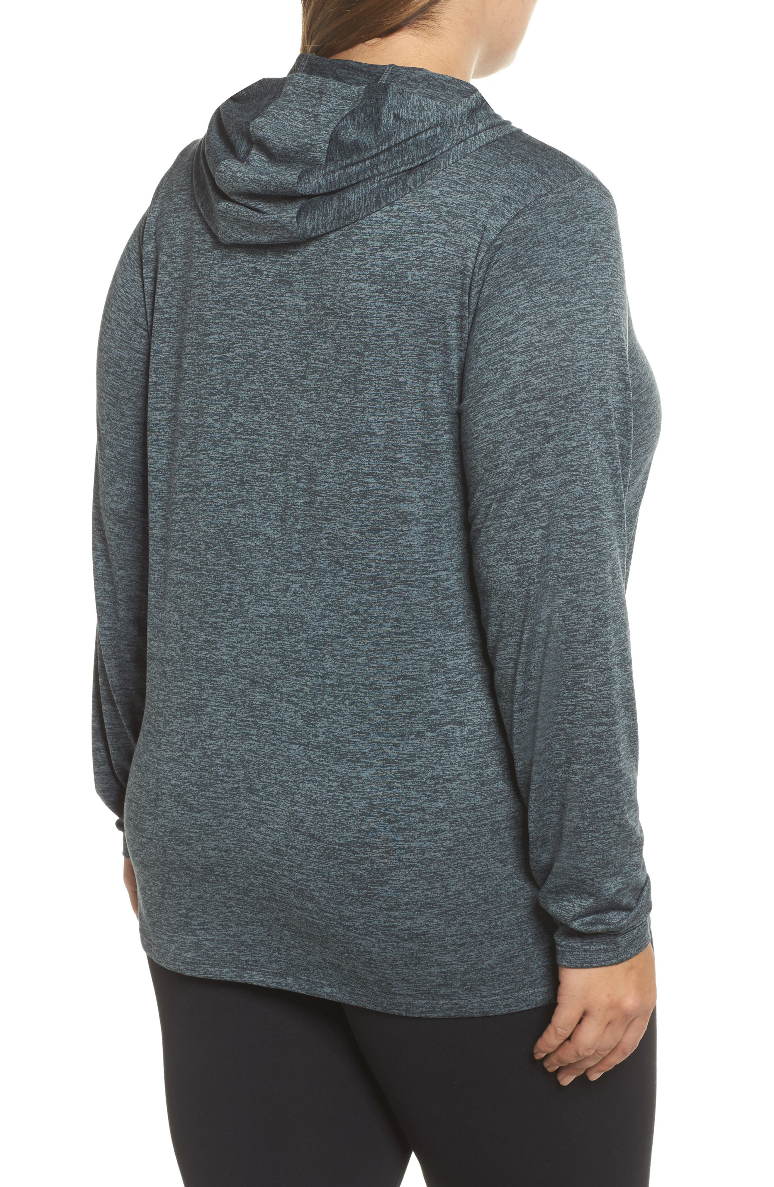 Dry Training Hoodie,                             Alternate thumbnail 2, color,                             Black/ Cool Grey/ White