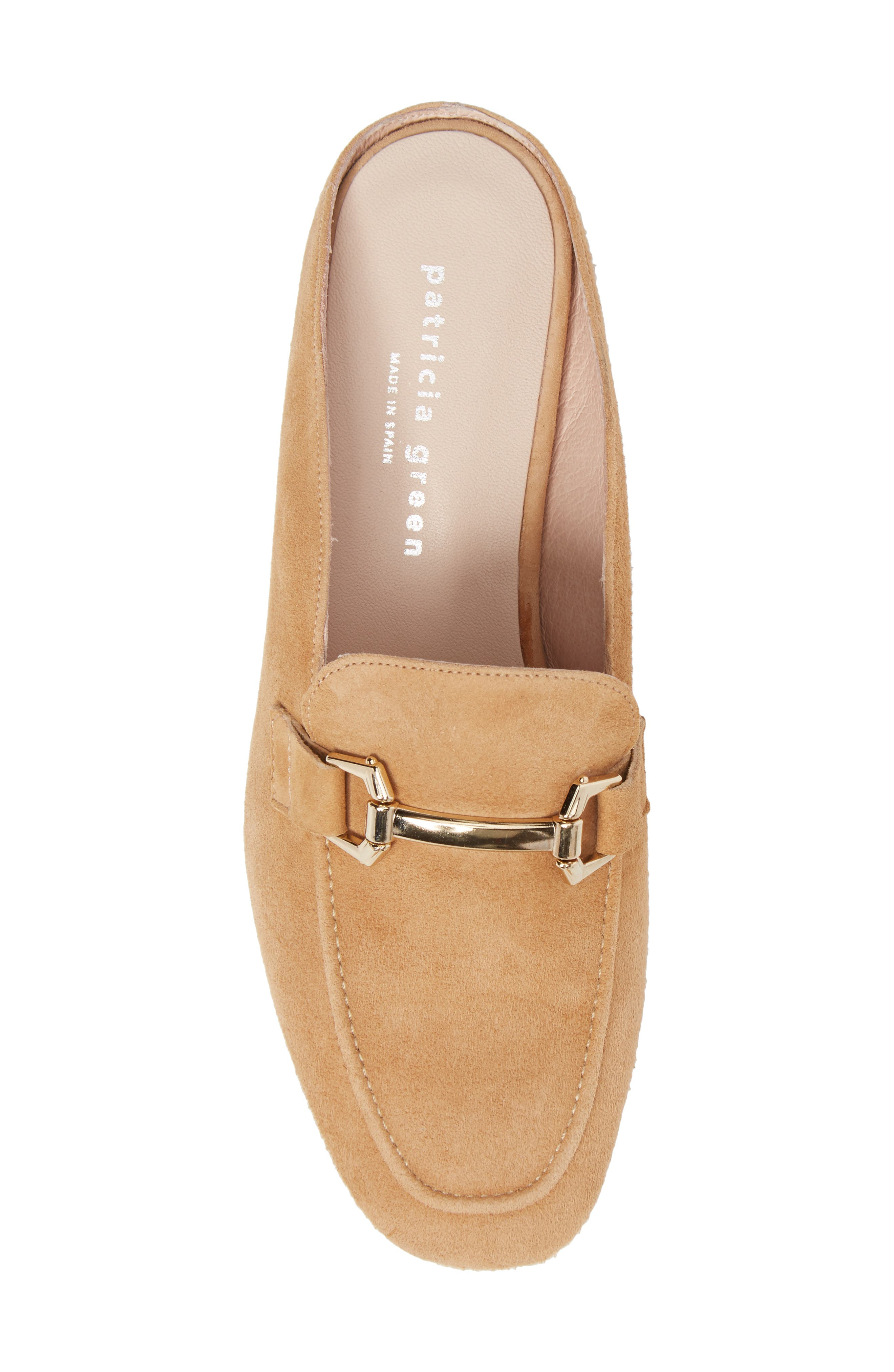 Sorrento Too Mule,                             Alternate thumbnail 5, color,                             Camel Suede