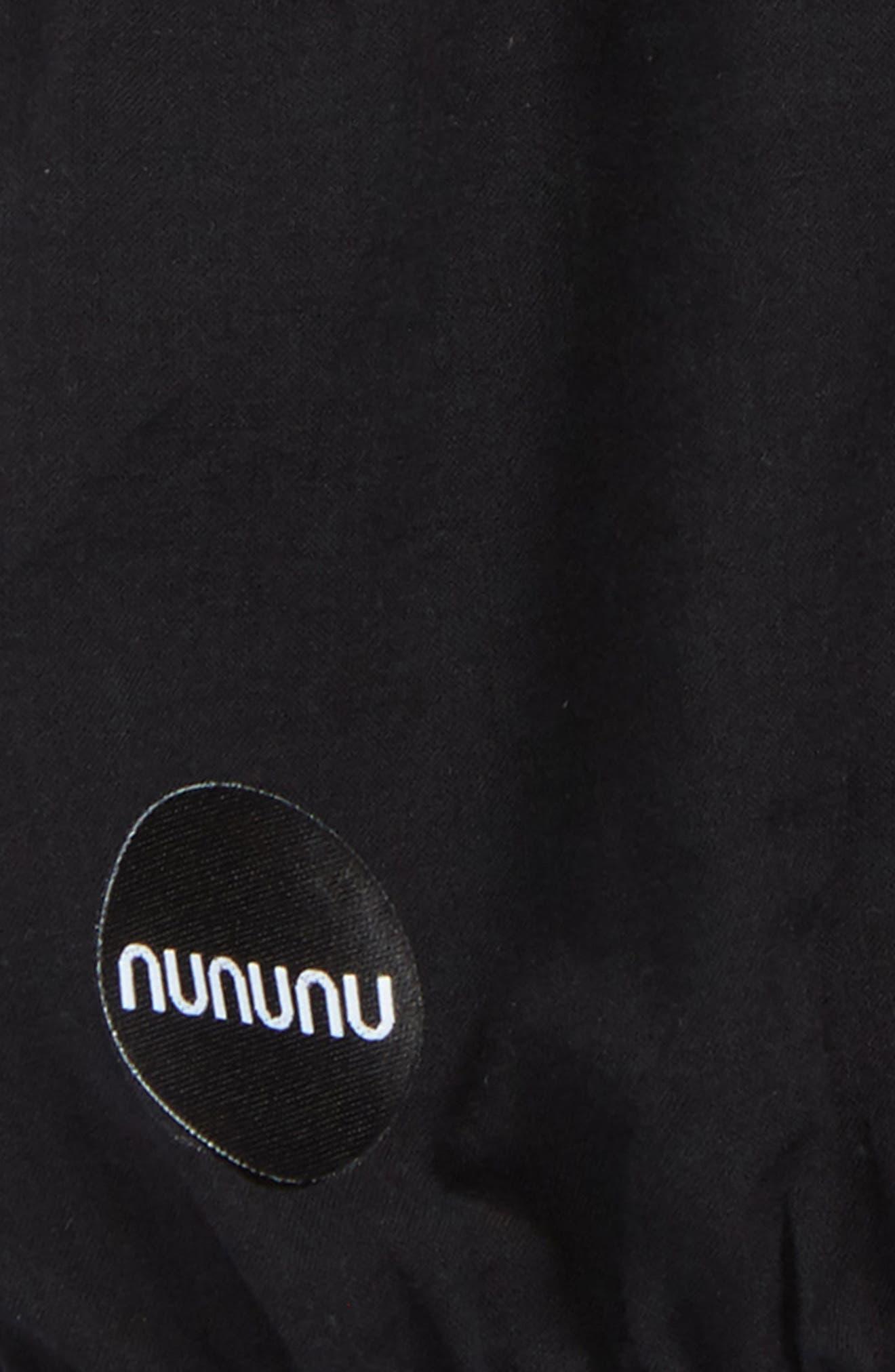 Alternate Image 2  - NUNUNU Yoga Shorts (Baby Girls)