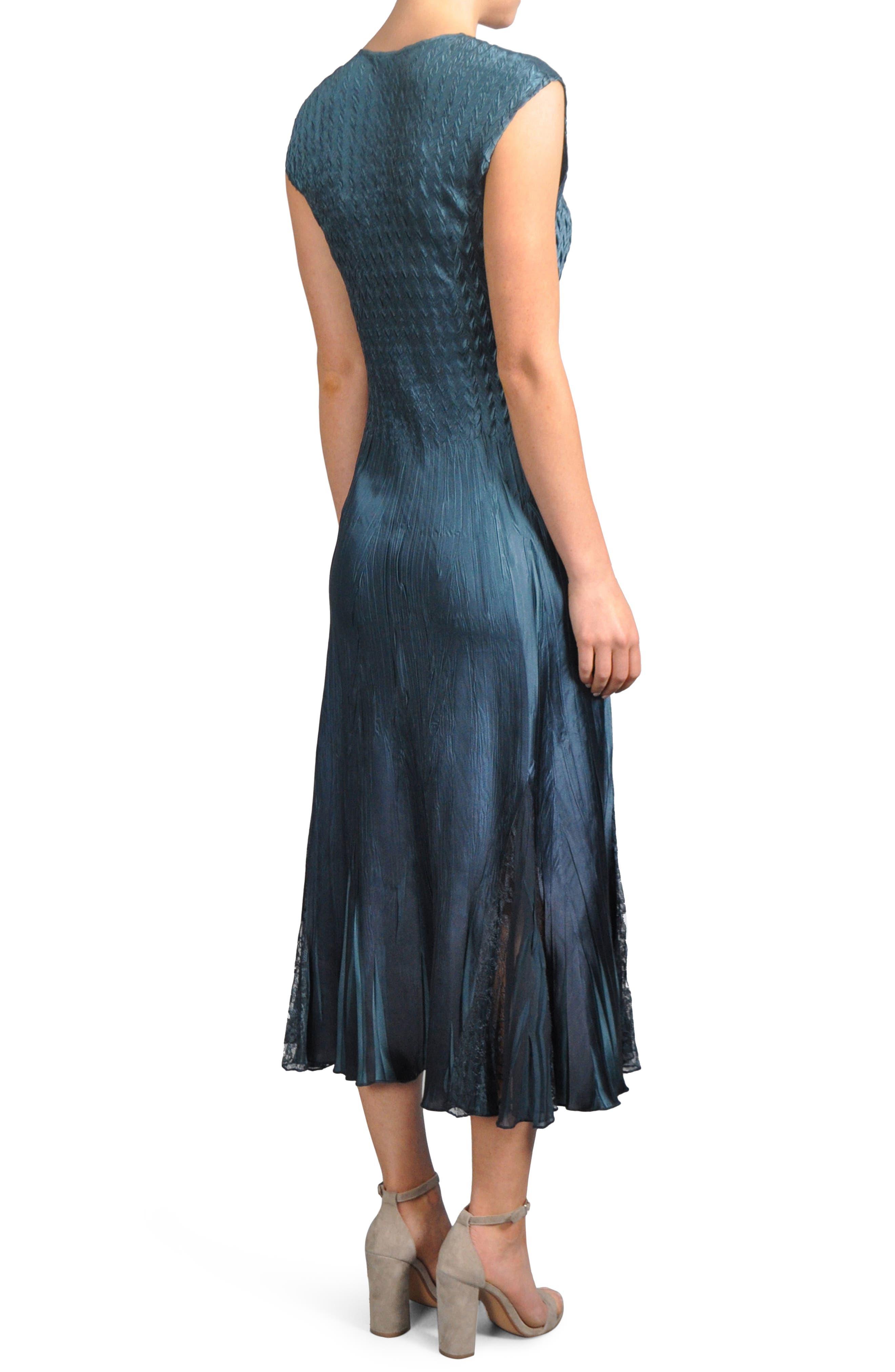 Alternate Image 4  - Komarov Lace Inset Midi Dress with Jacket