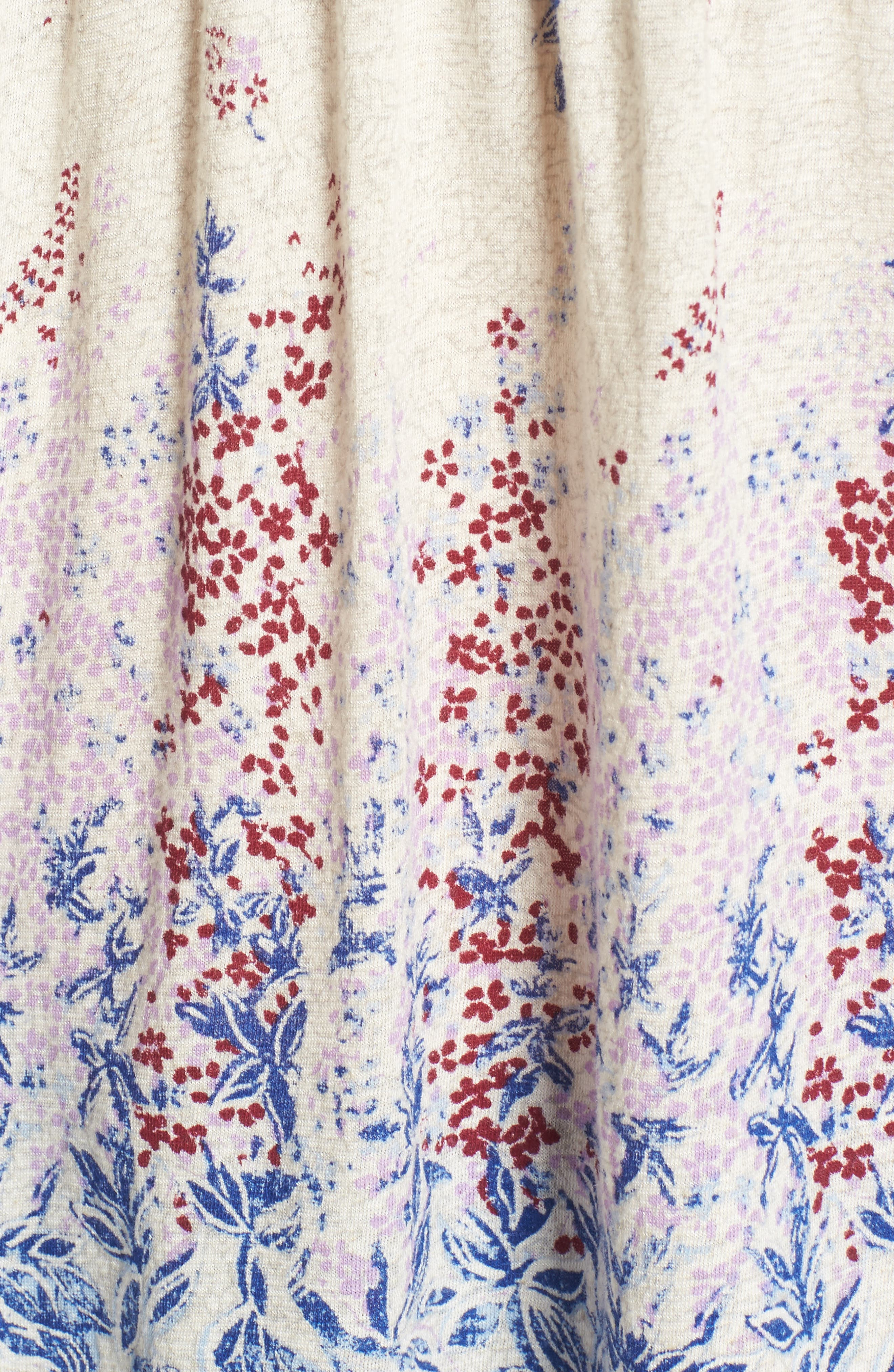Alternate Image 5  - Lucky Brand Print Knit Peasant Top