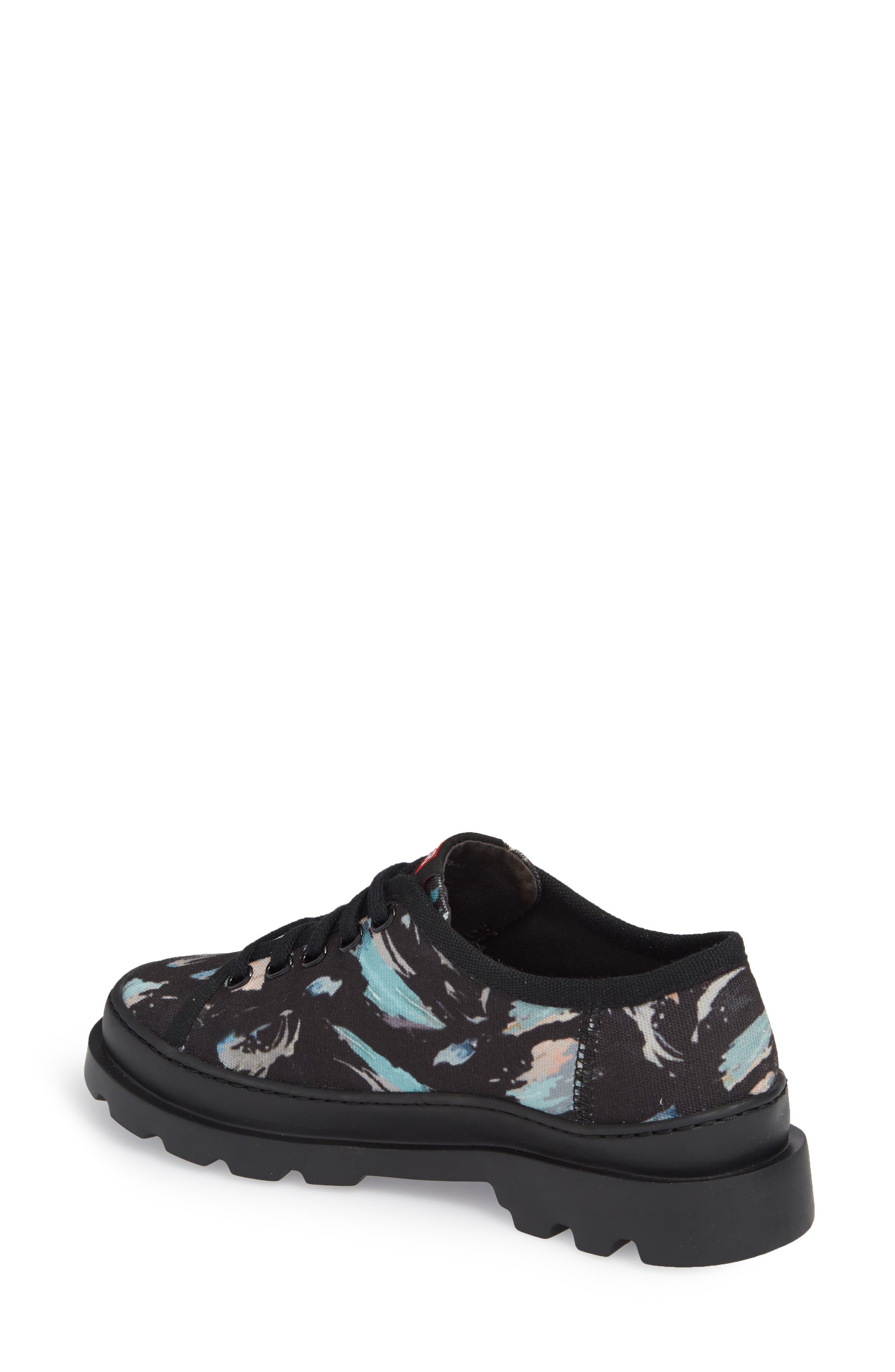 Brutus Lugged Platform Sneaker,                             Alternate thumbnail 2, color,                             Black Multi