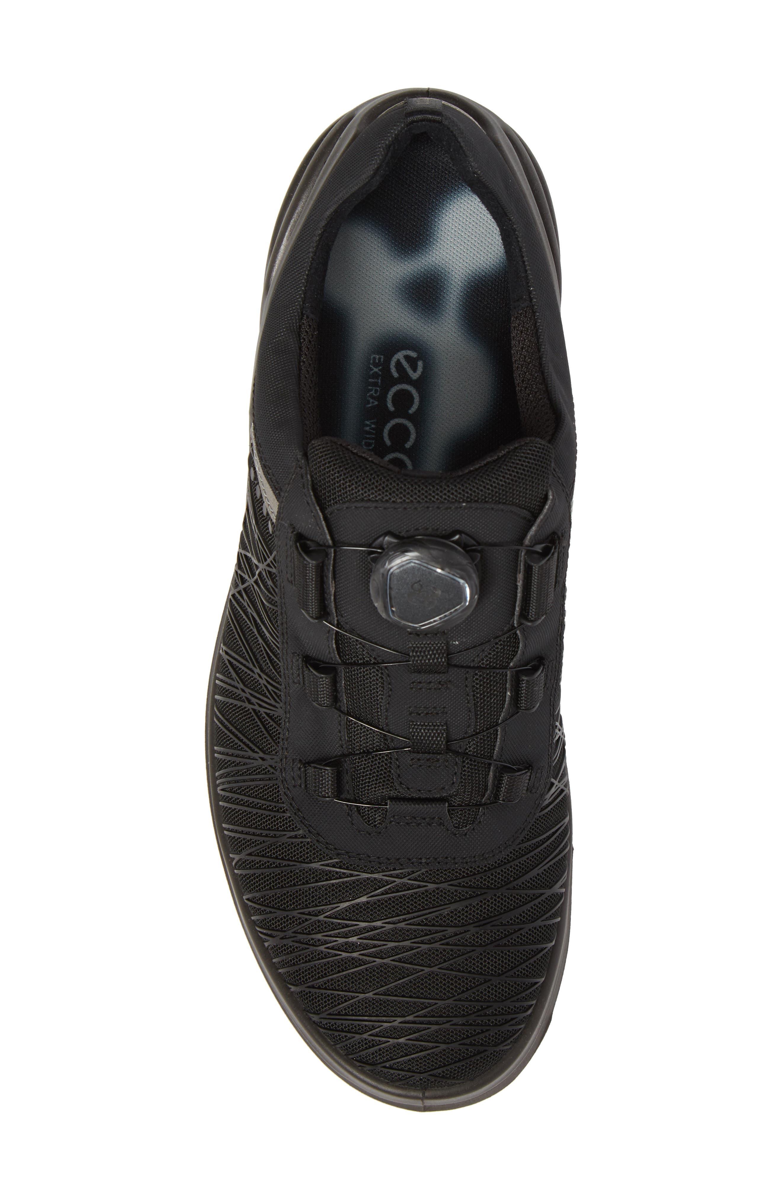 Cage Pro BOA Golf Shoe,                             Alternate thumbnail 5, color,                             Black