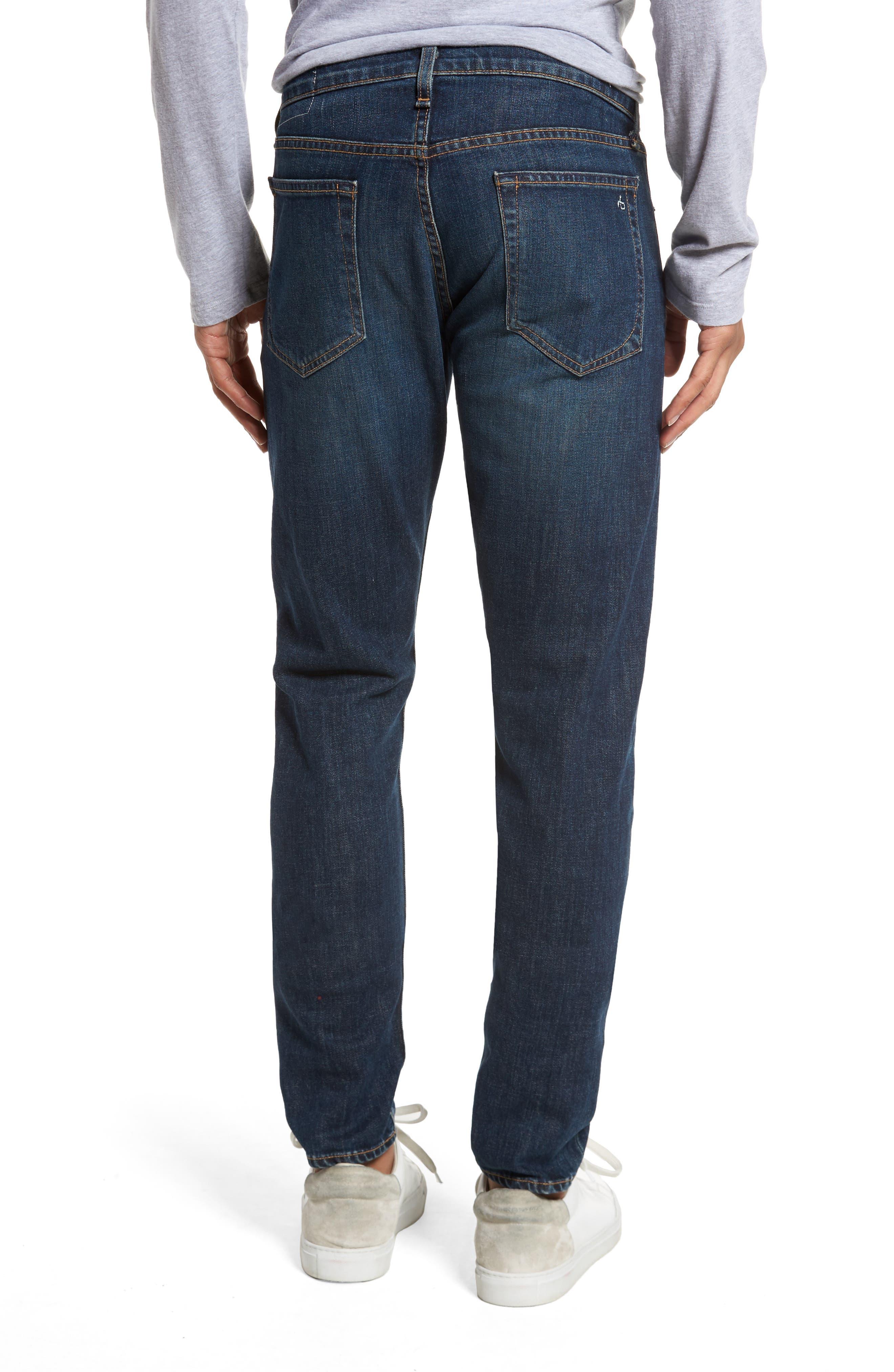 Fit 1 Skinny Fit Jeans,                             Alternate thumbnail 2, color,                             Linden