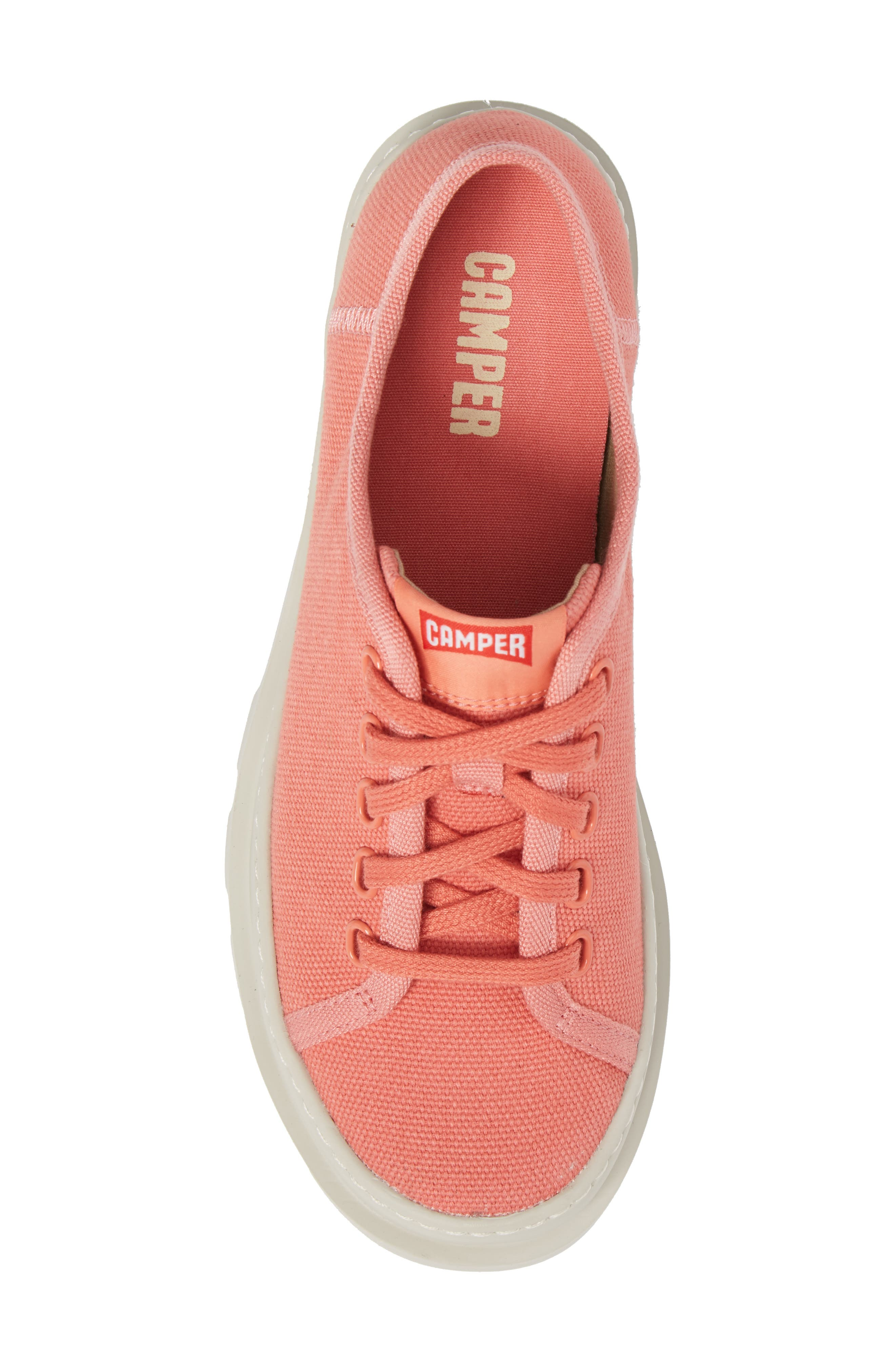 Brutus Lugged Platform Sneaker,                             Alternate thumbnail 5, color,                             Pink