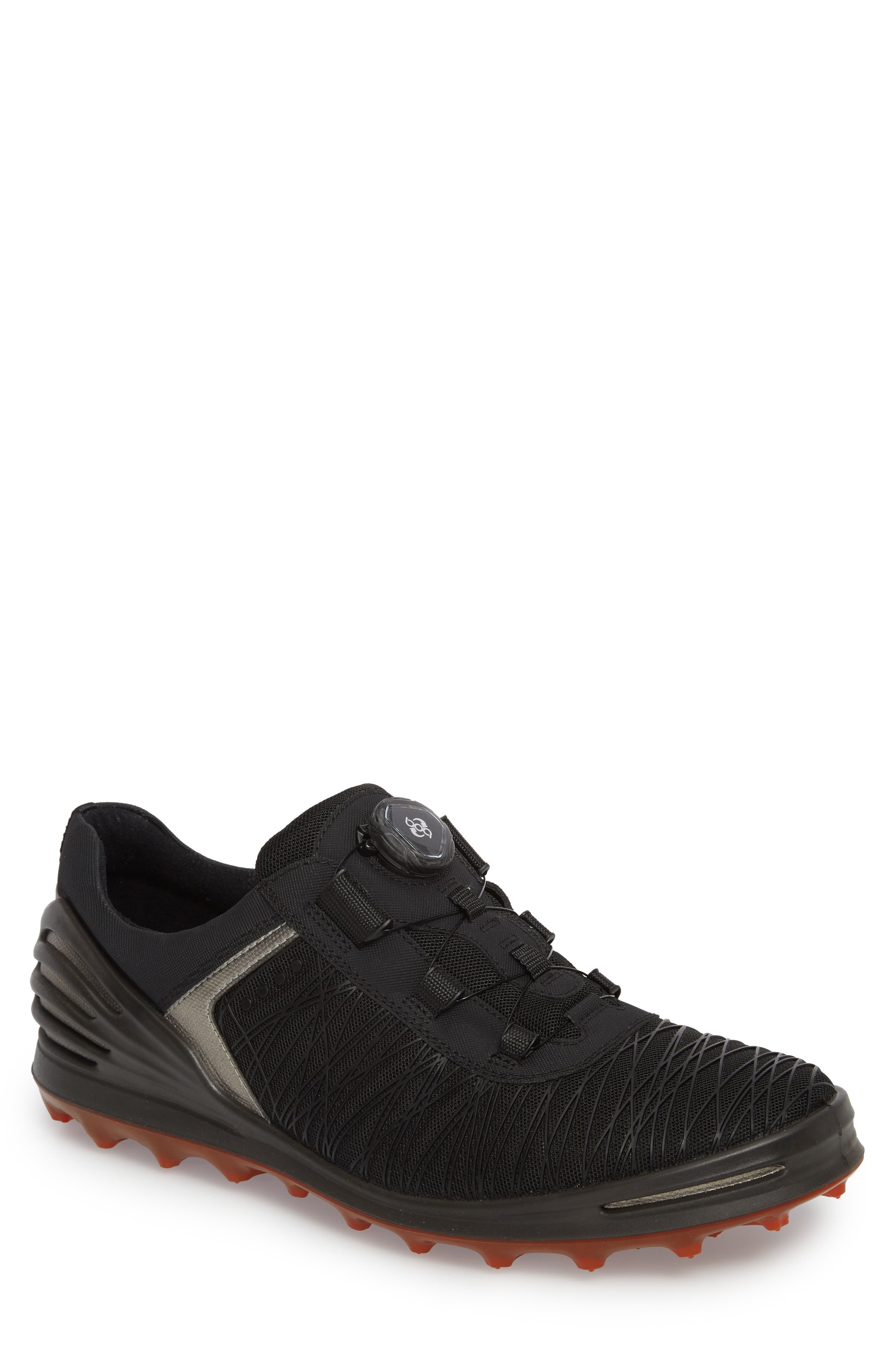 Cage Pro BOA Golf Shoe,                             Main thumbnail 1, color,                             Black