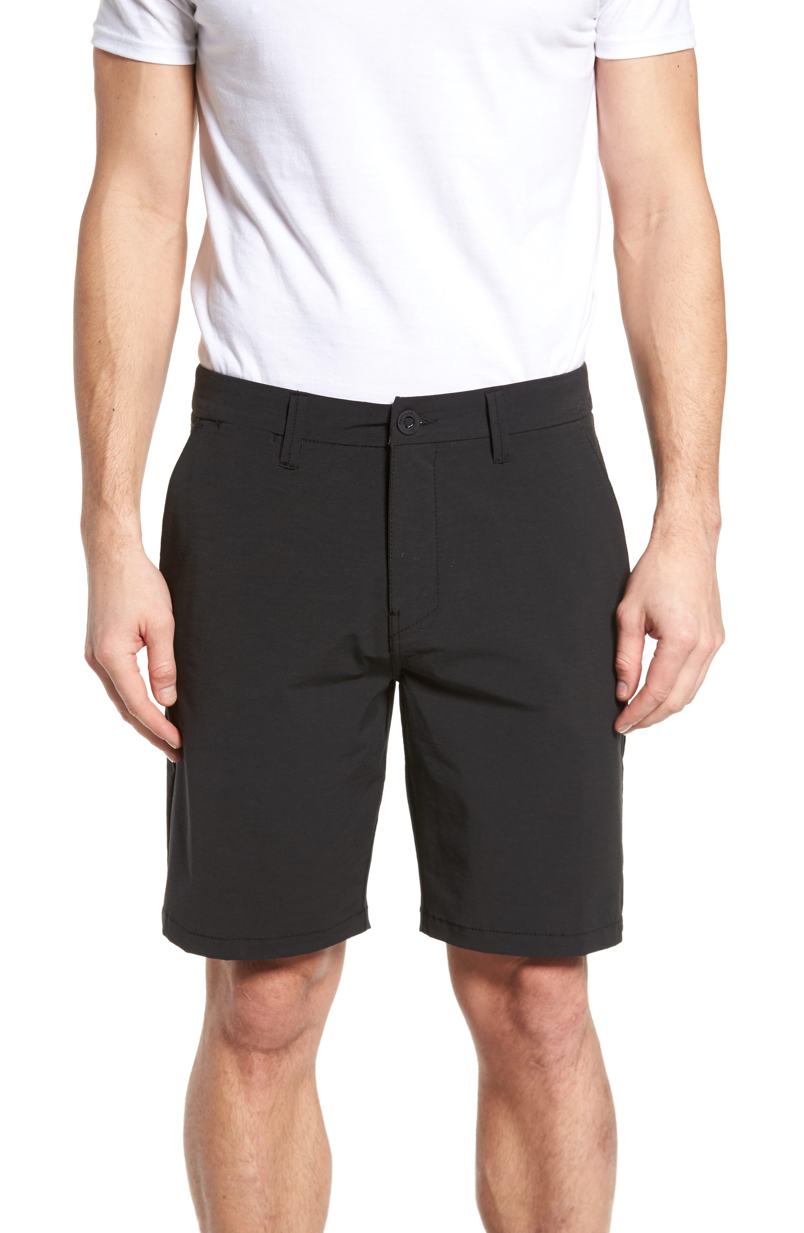Mirage Records Boardwalk Shorts,                             Main thumbnail 1, color,                             Grey