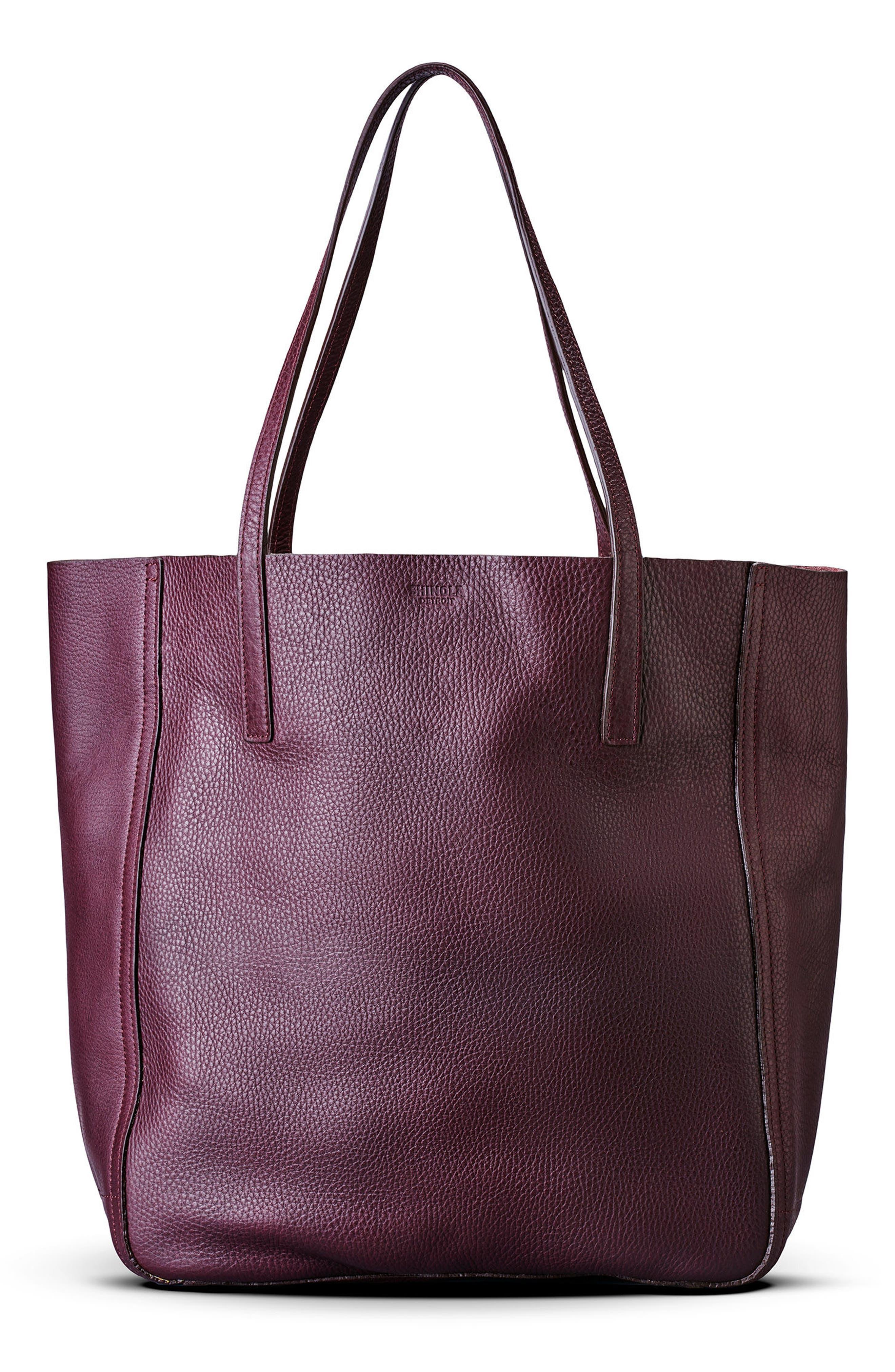 Alternate Image 2  - Shinola Medium Leather Shopper (Nordstrom Exclusive)