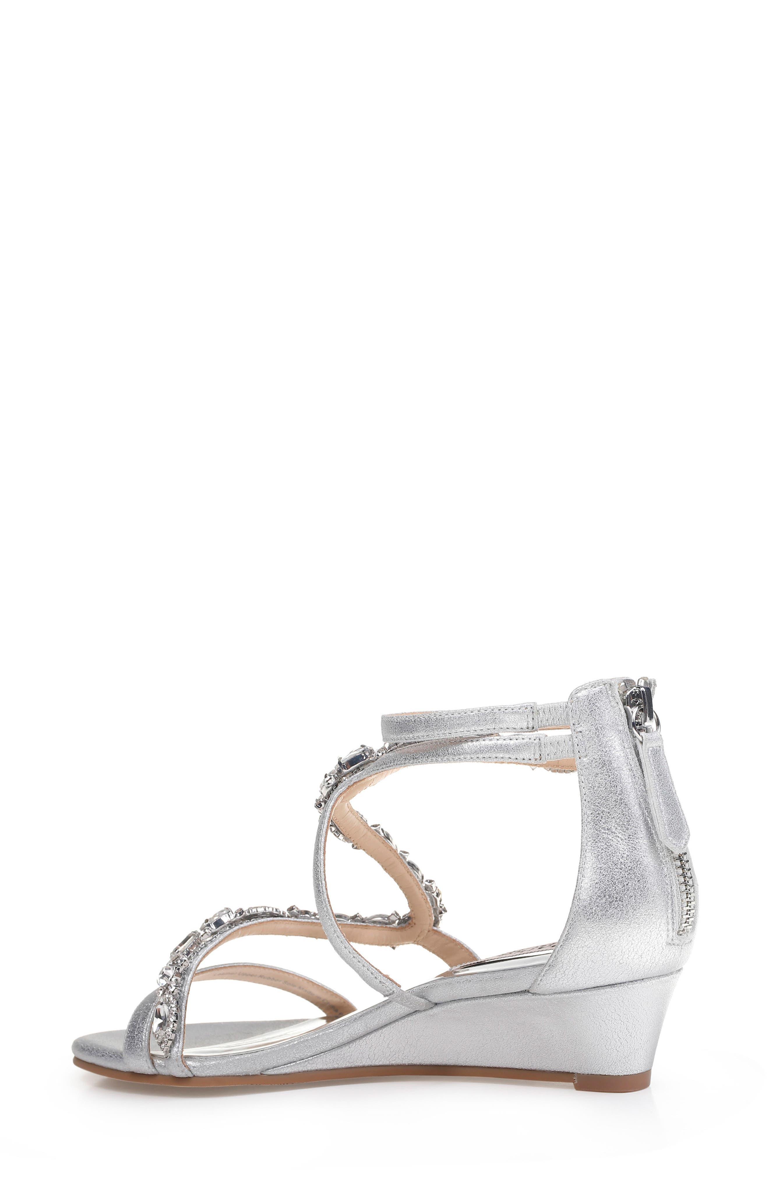Alternate Image 2  - Badgley Mischka Sierra Strappy Wedge Sandal (Women)