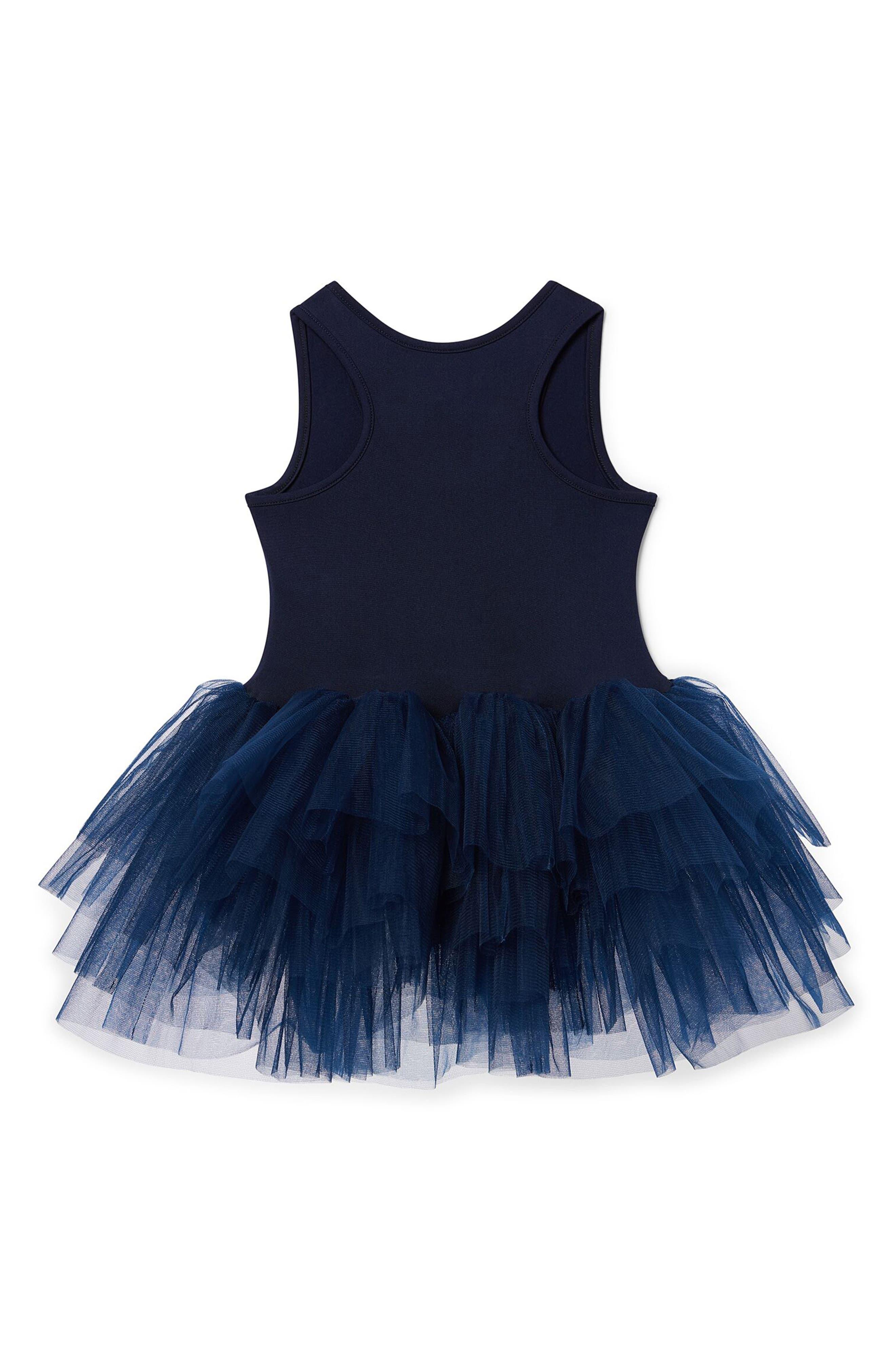 Tutu Dress,                             Alternate thumbnail 2, color,                             Navy Blue