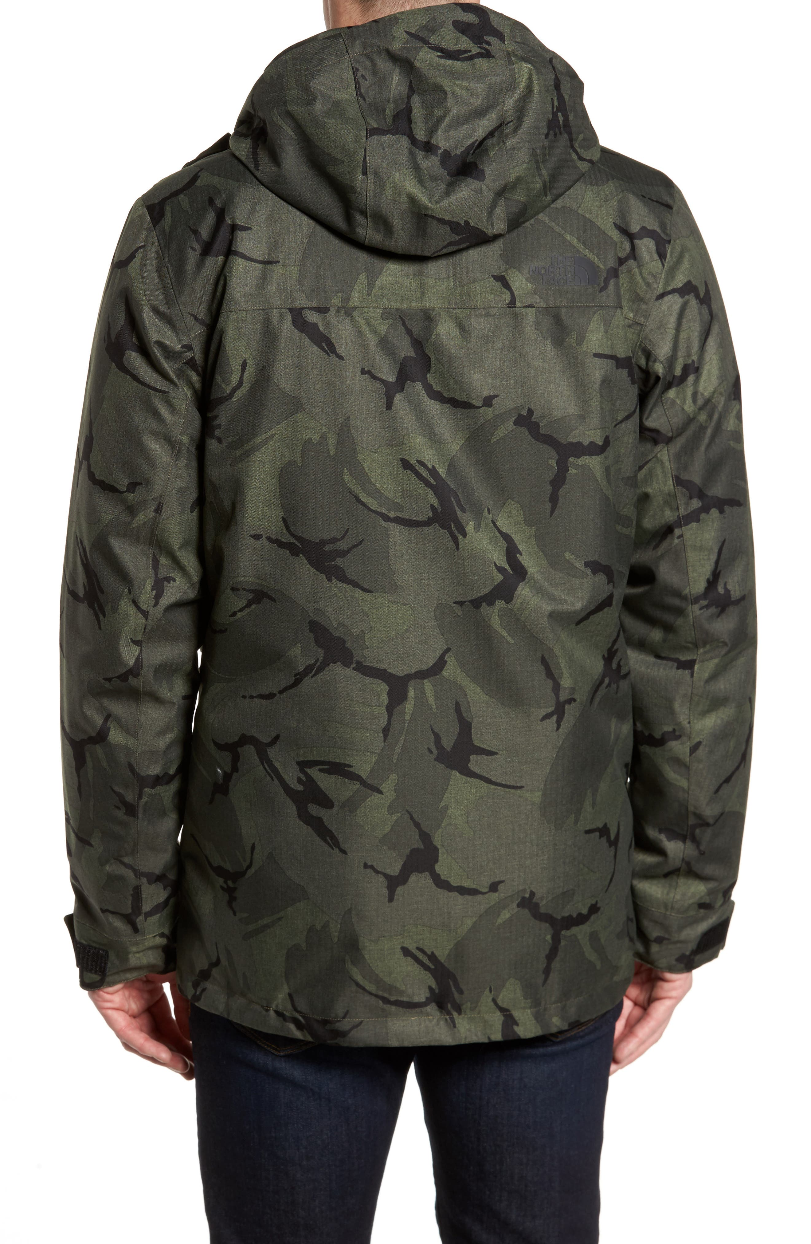 Outer Boroughs 3-in-1 TriClimate<sup>®</sup> Waterproof Parka,                             Alternate thumbnail 3, color,                             New Taupe Green Disrupt