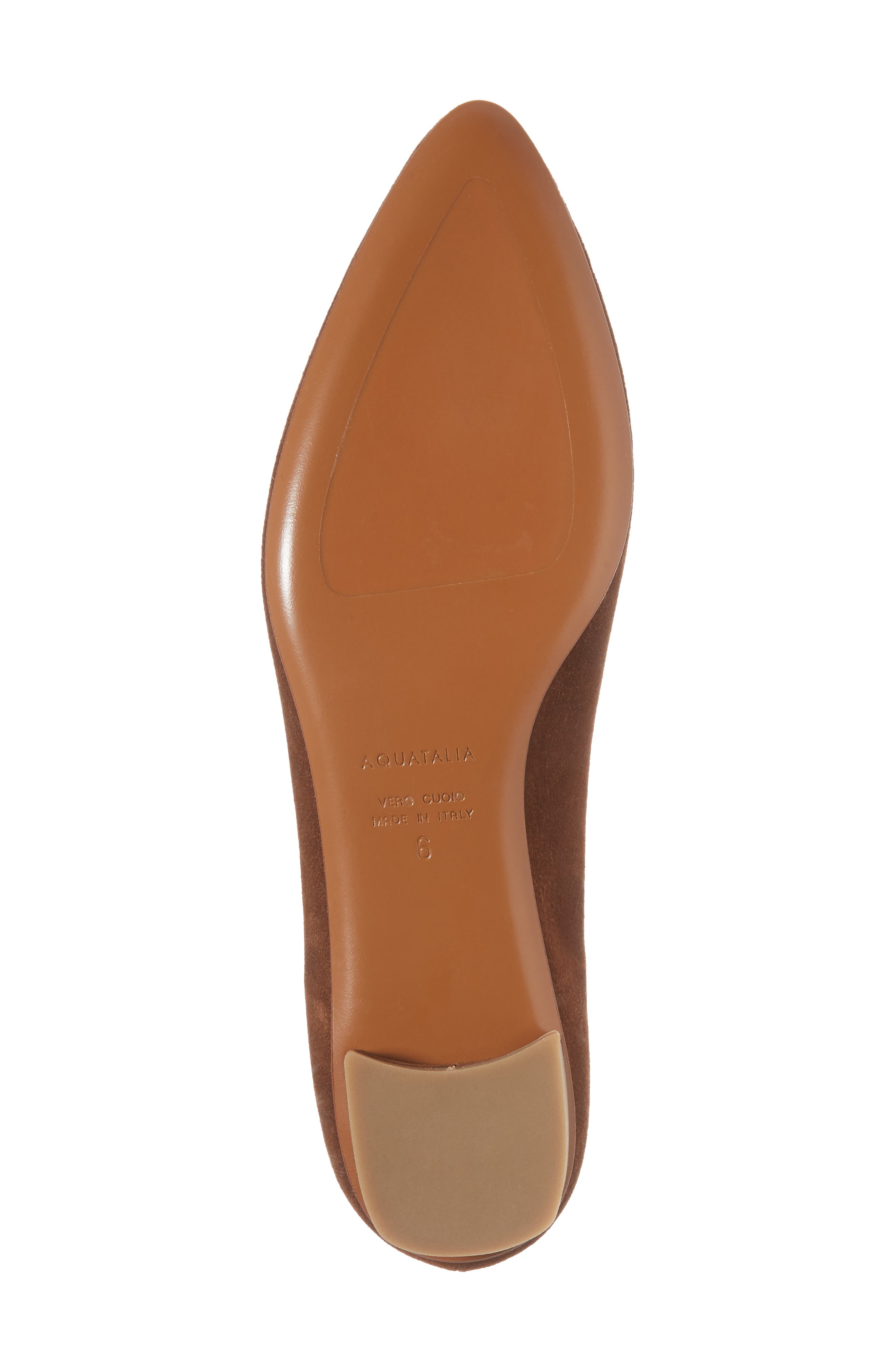 Alternate Image 6  - Aquatalia Perla Weatherproof Ballerina Shoe (Women)