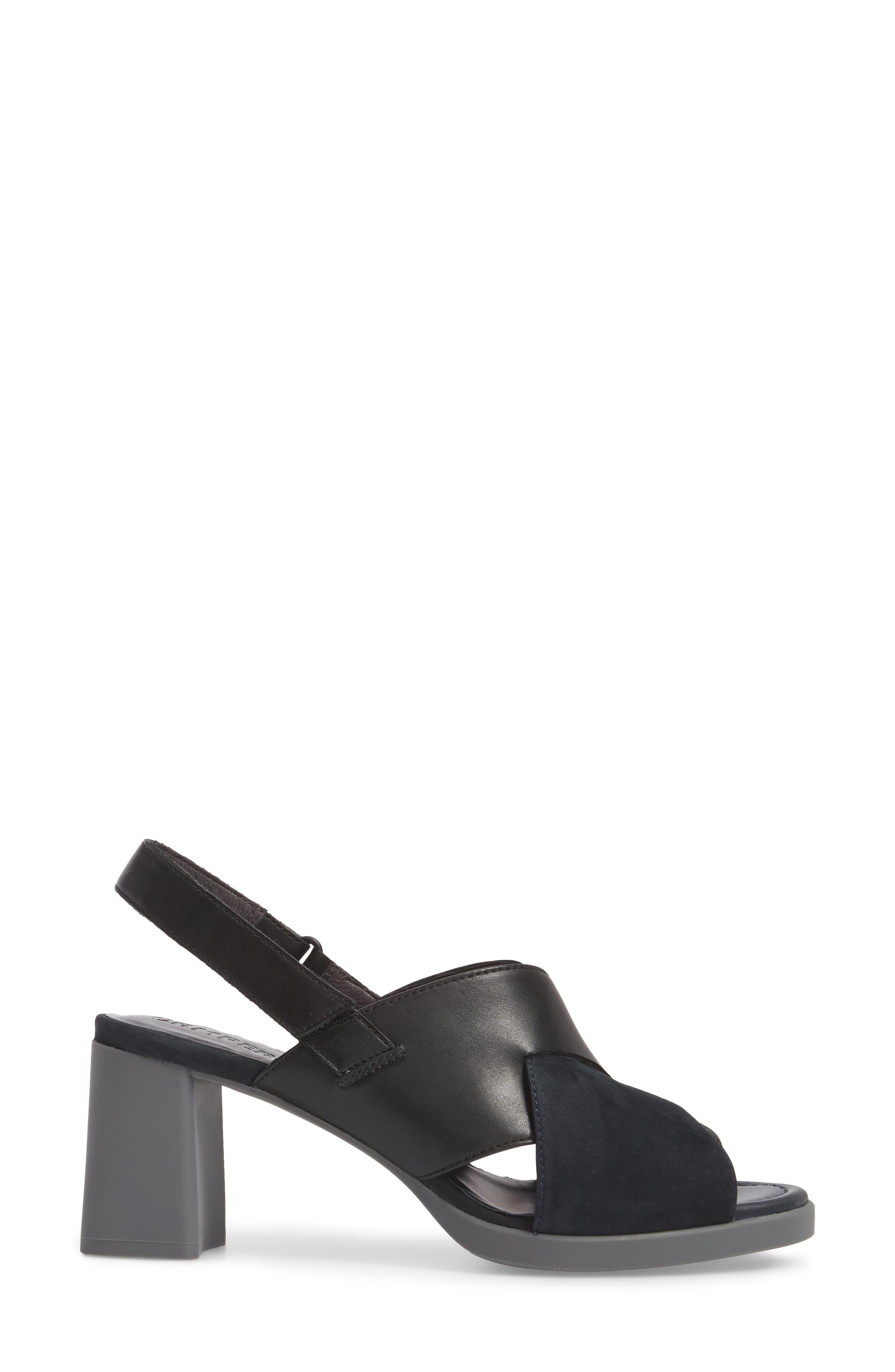 Alternate Image 3  - Camper Kara Cross Strap Sandal (Women)