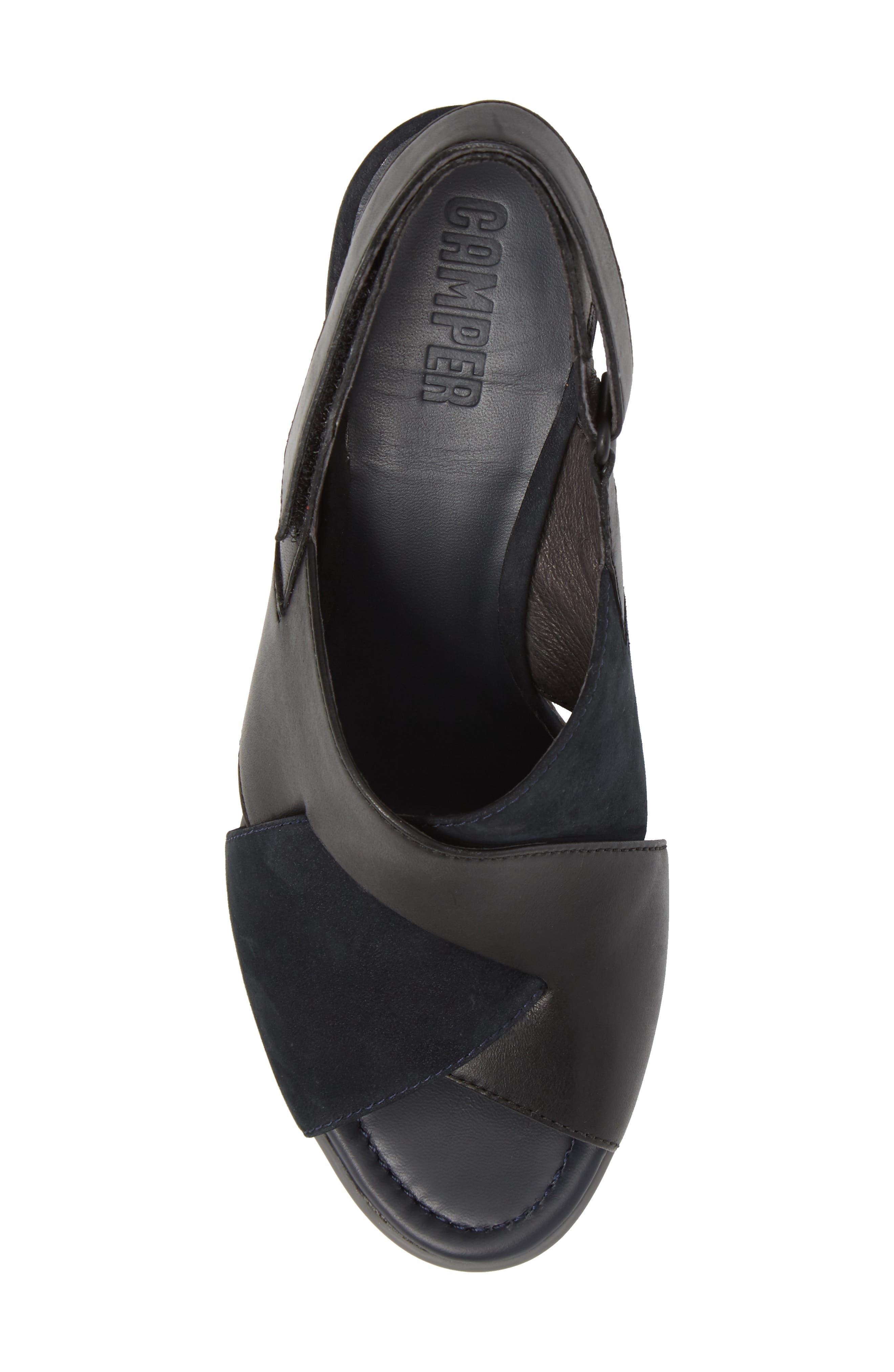 Alternate Image 5  - Camper Kara Cross Strap Sandal (Women)