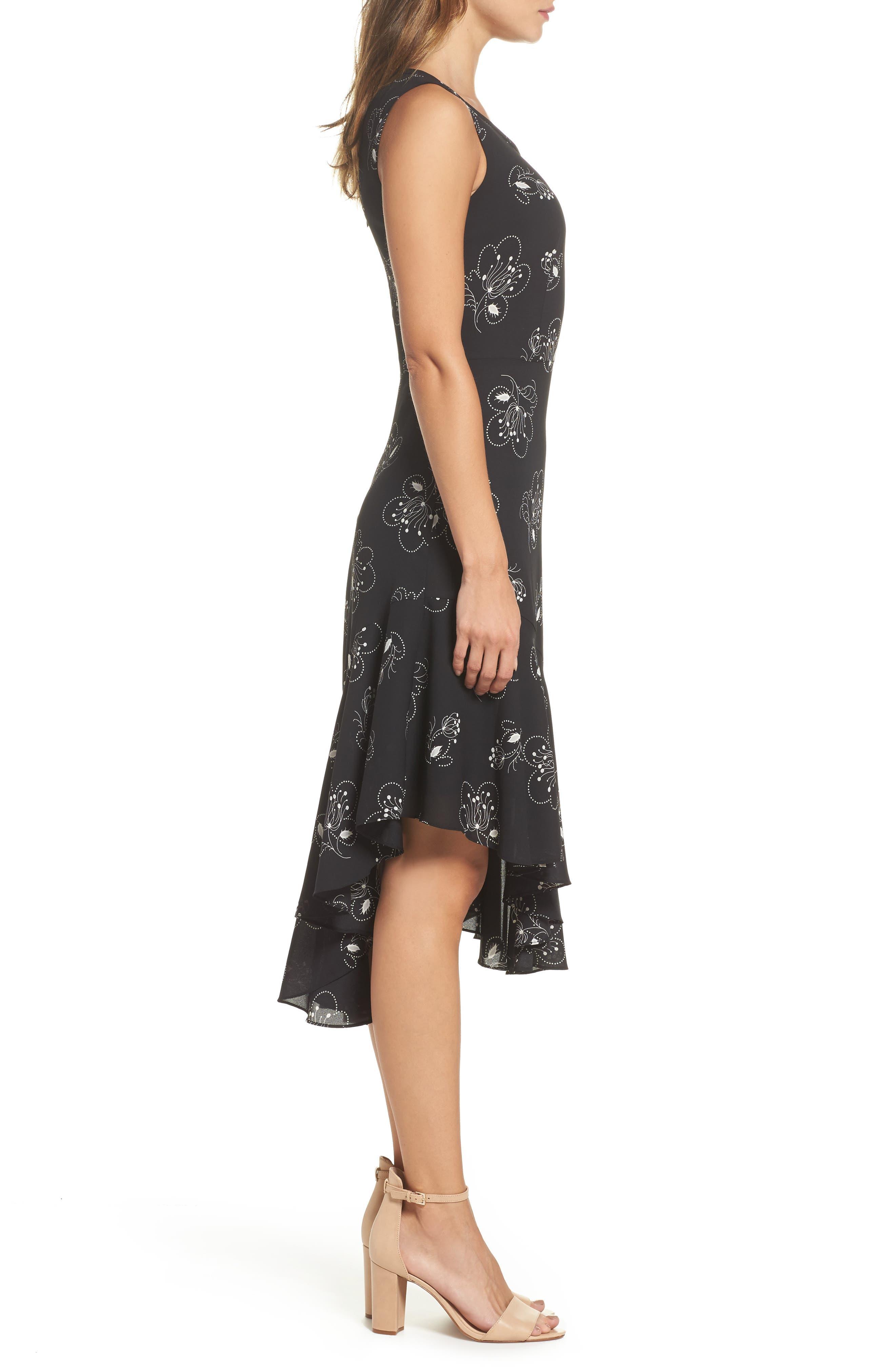 Alternate Image 3  - Kobi Halperin Briana Asymmetrical Hem Dress