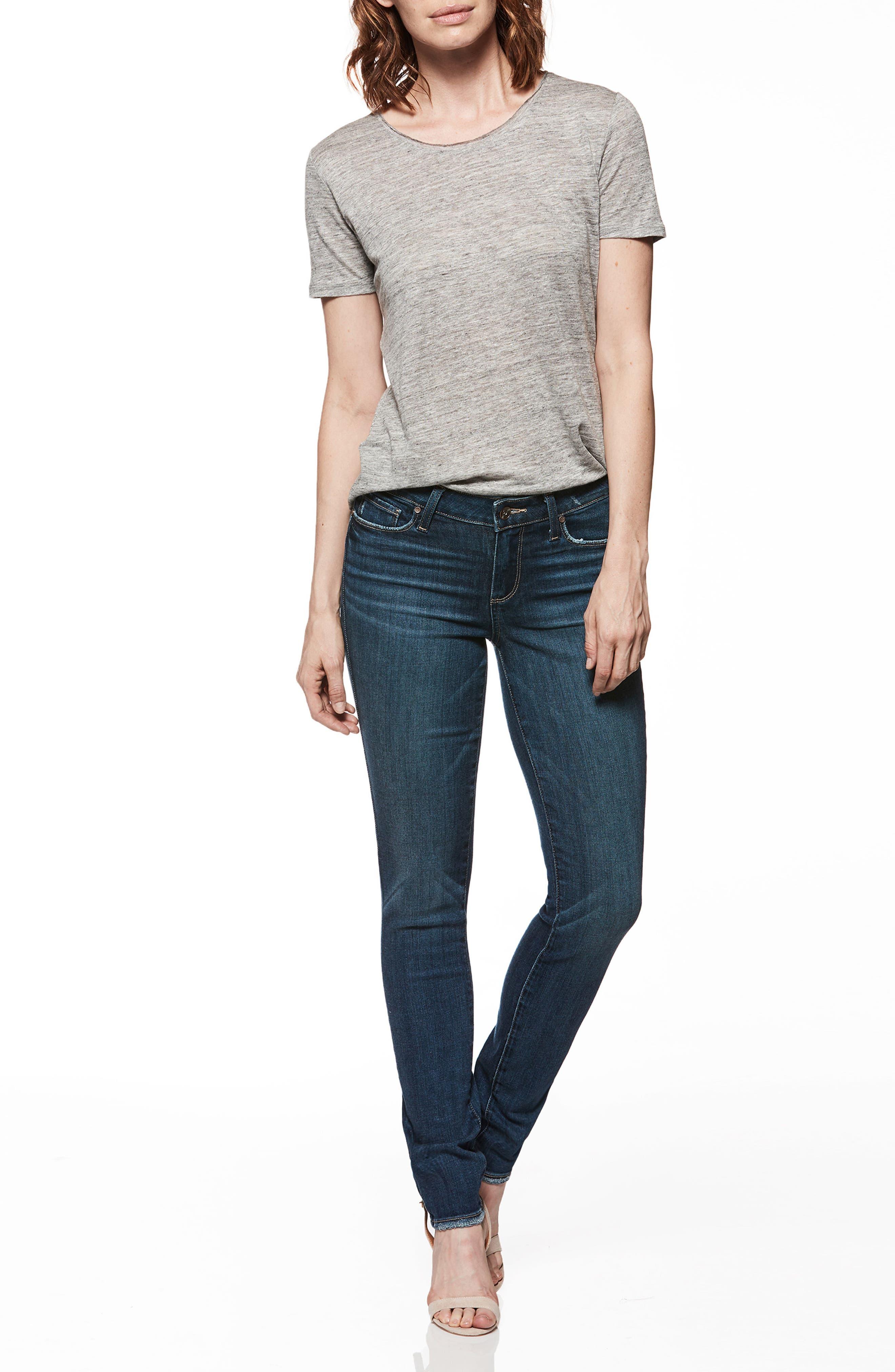 Transcend Vintage - Verdugo Ultra Skinny Jeans,                             Alternate thumbnail 2, color,                             Emilio