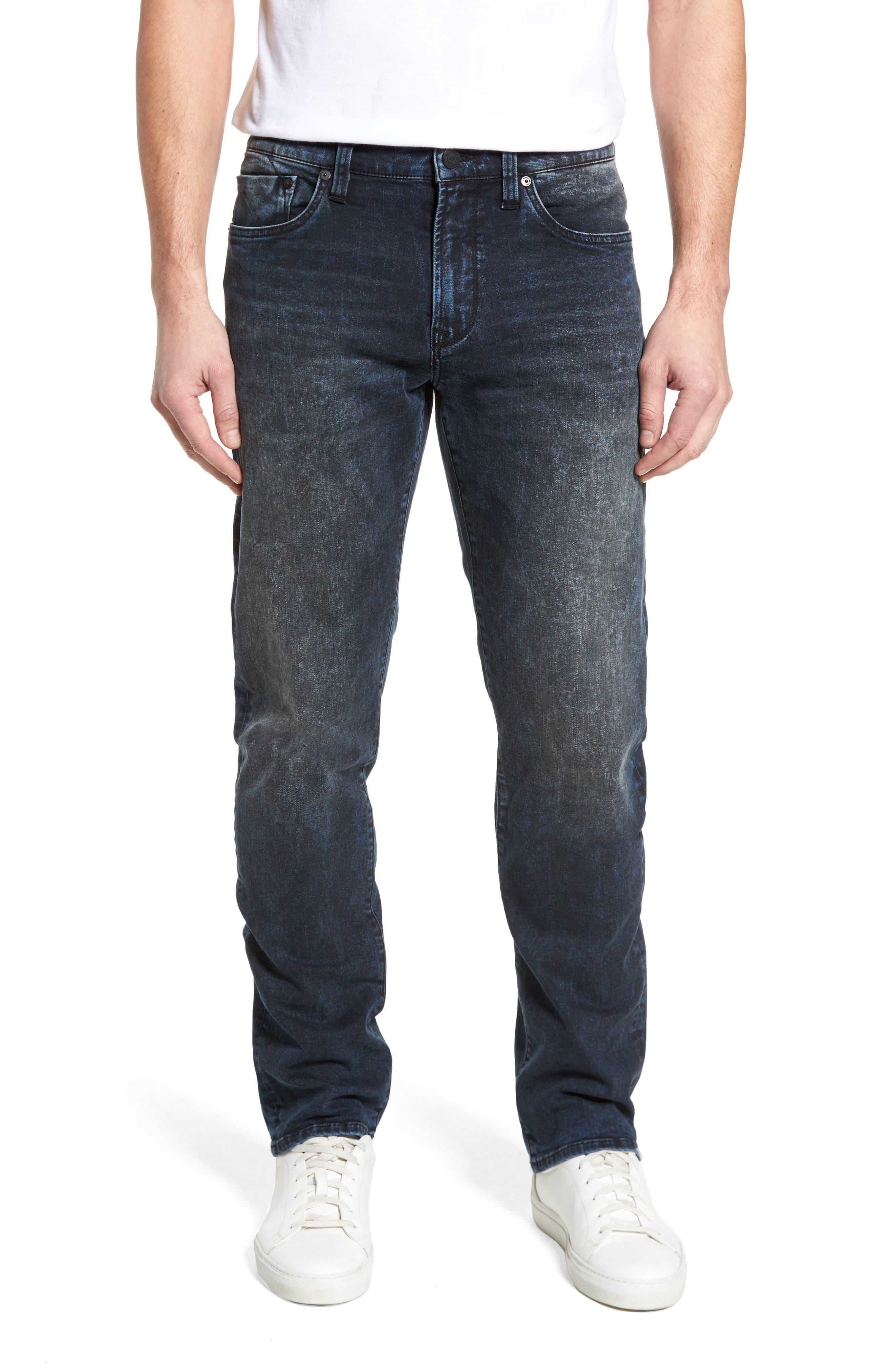 Mavi Jeans Zach Straight Leg Jeans (Ink Used Vintage)
