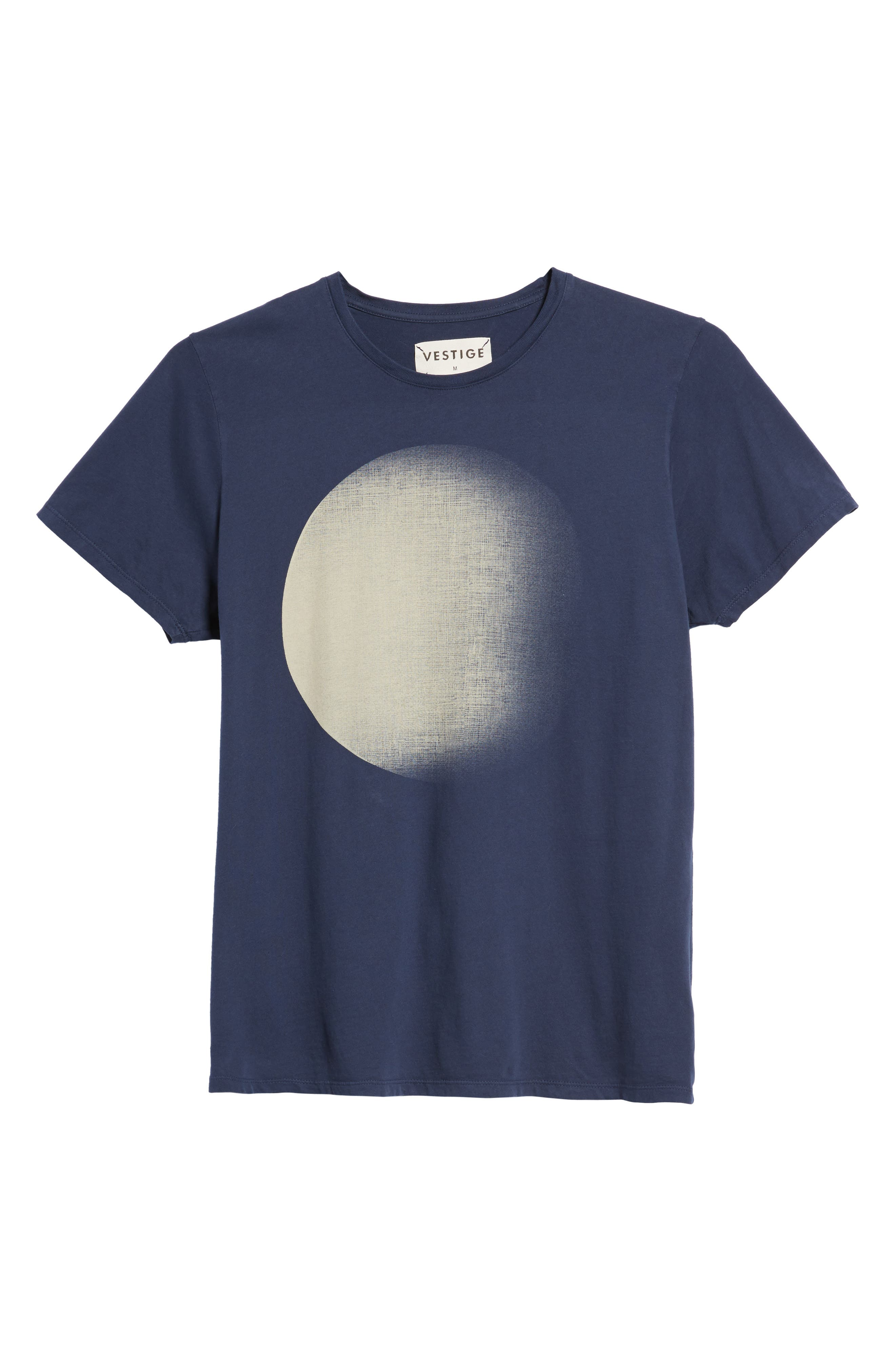 Dark Moon Graphic T-Shirt,                             Alternate thumbnail 6, color,                             Navy