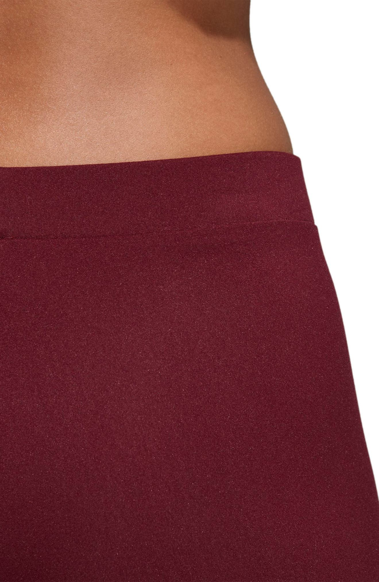 Originals Adibreak Tights,                             Alternate thumbnail 5, color,                             Maroon