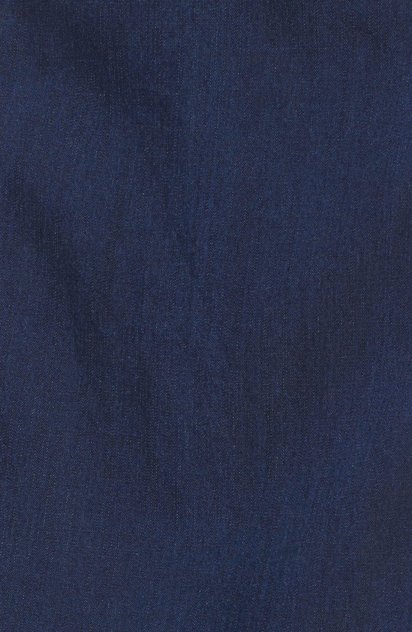 Alternate Image 5  - Eileen Fisher Faux Wrap Denim Skirt