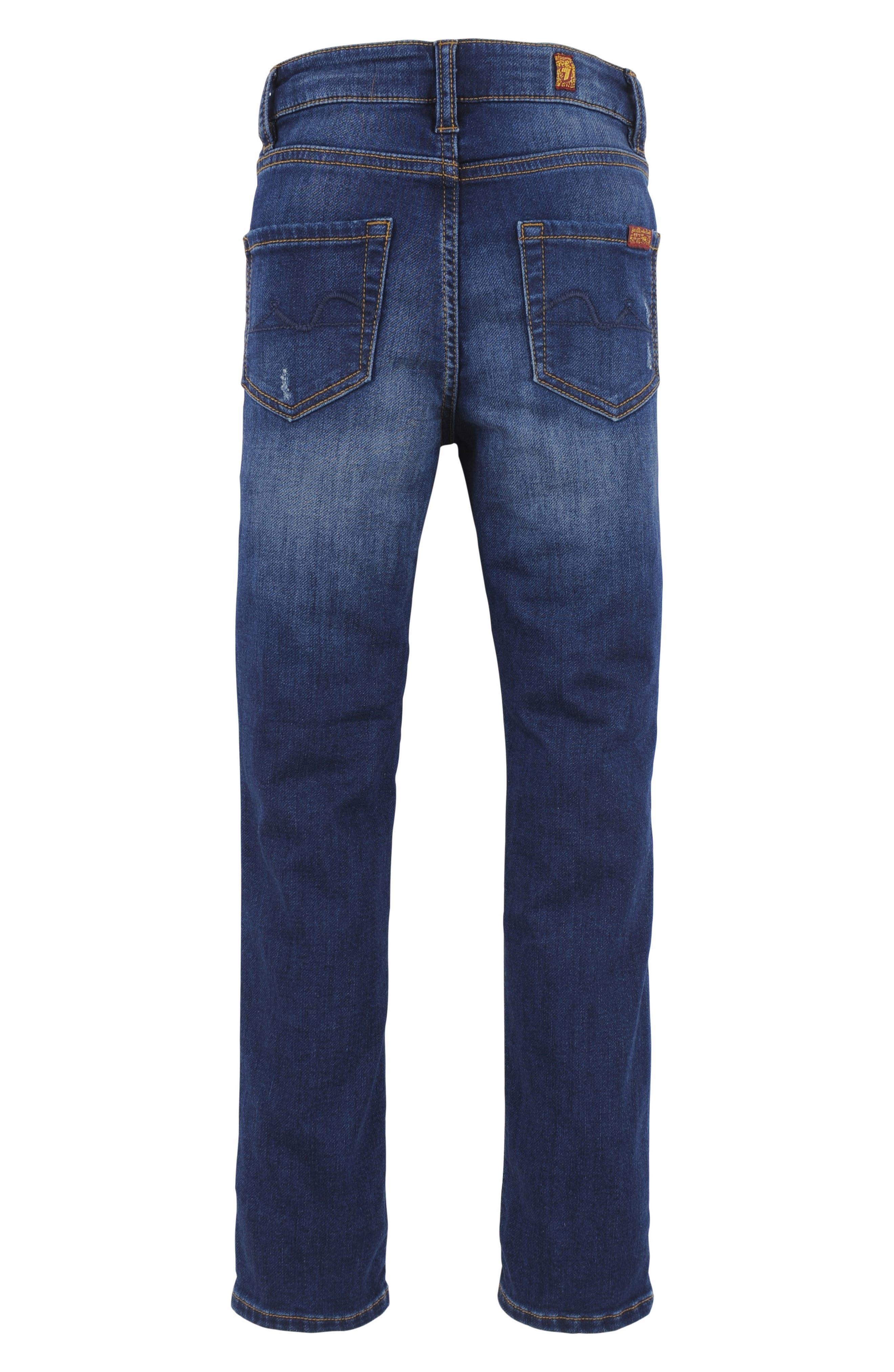 Slimmy Luxe Sport Jeans,                             Alternate thumbnail 2, color,                             Desert Sun