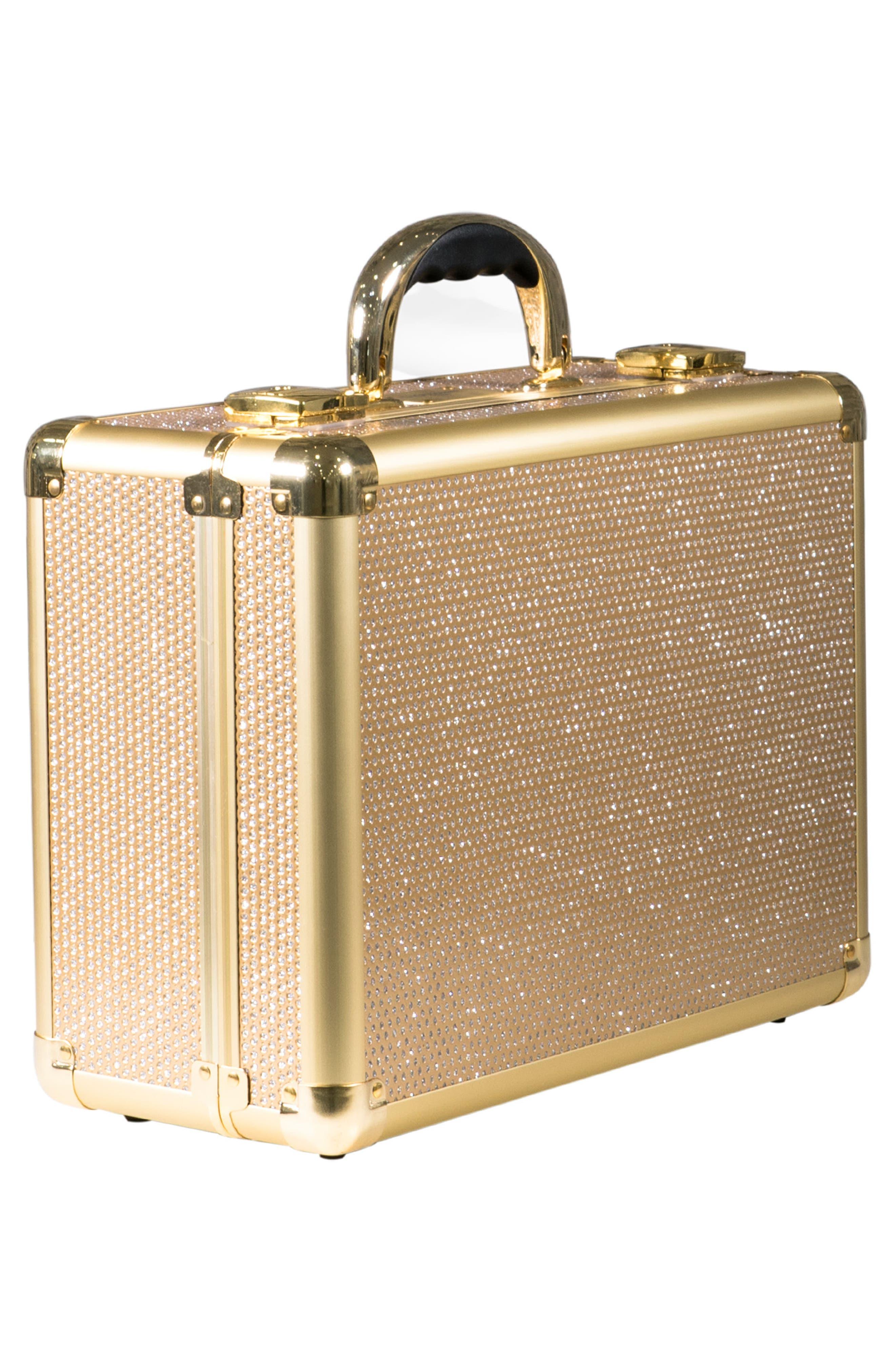 SlayCase<sup>™</sup> Vanity Travel Case,                             Alternate thumbnail 2, color,                             Sparkling Gold