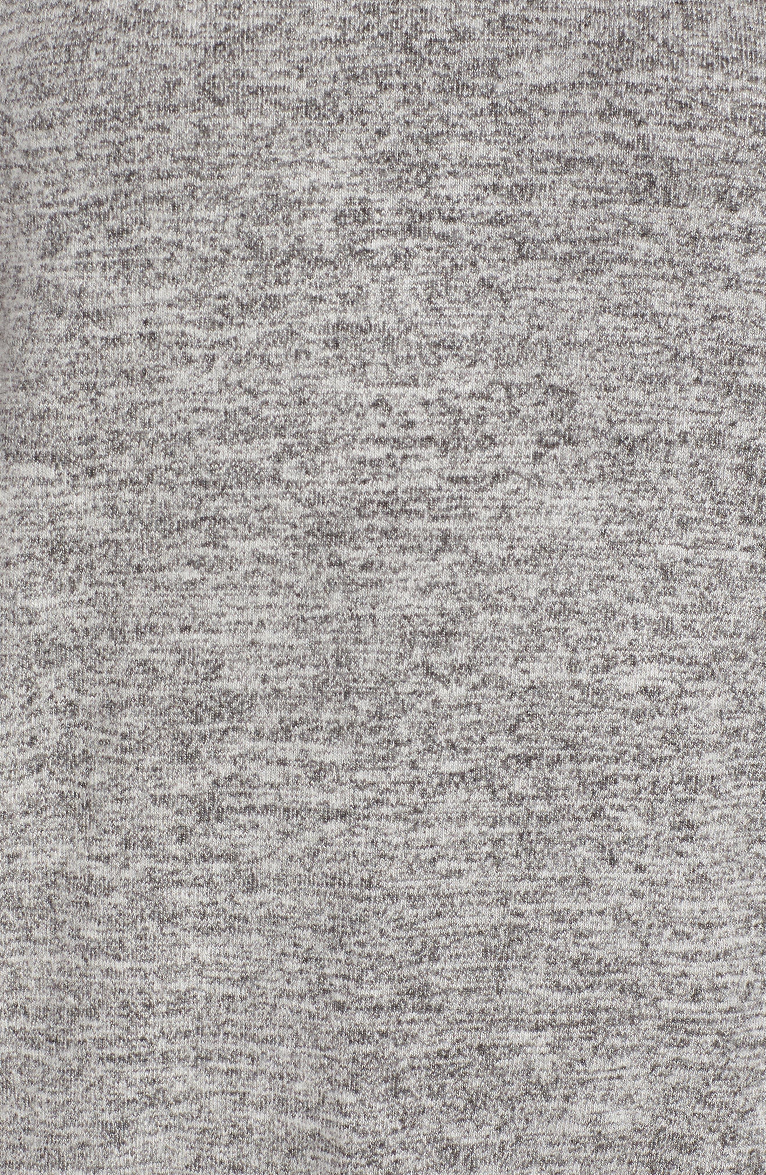 Alternate Image 5  - Bobeau Ruffle Sleeve Sweatshirt