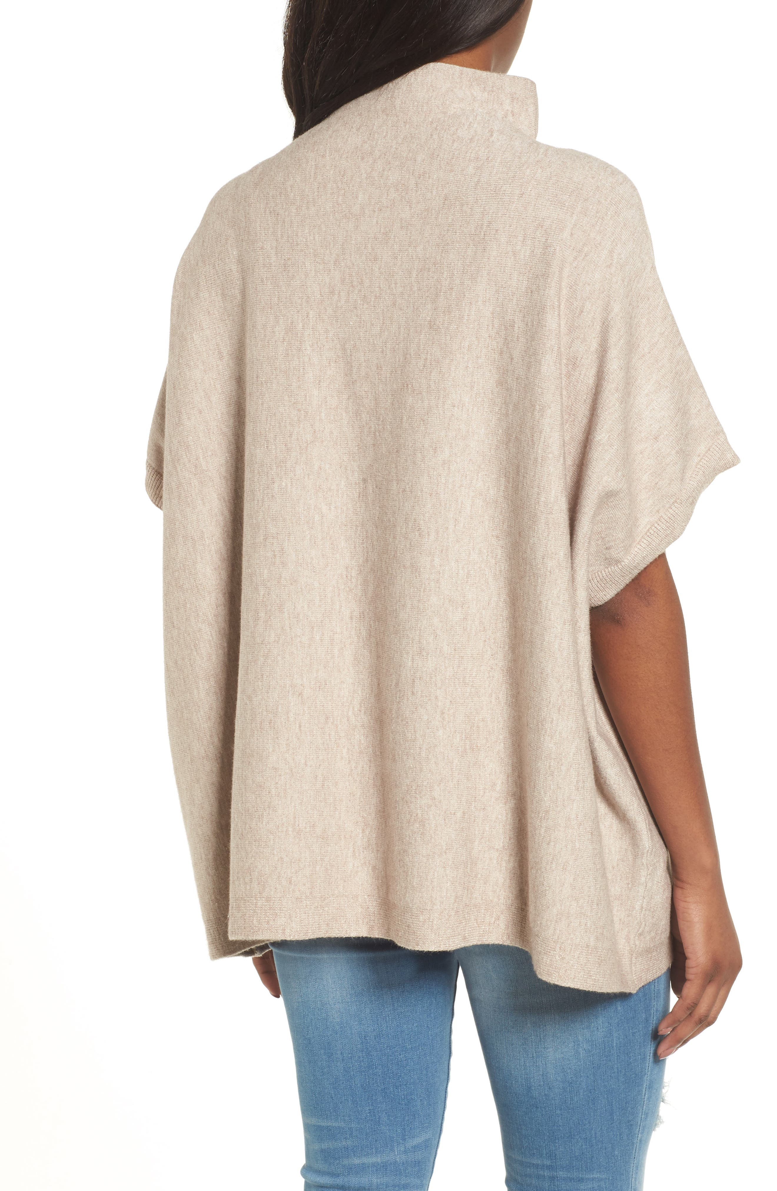 RD Style Boxy Pocket Sweater,                             Alternate thumbnail 2, color,                             Oatmeal