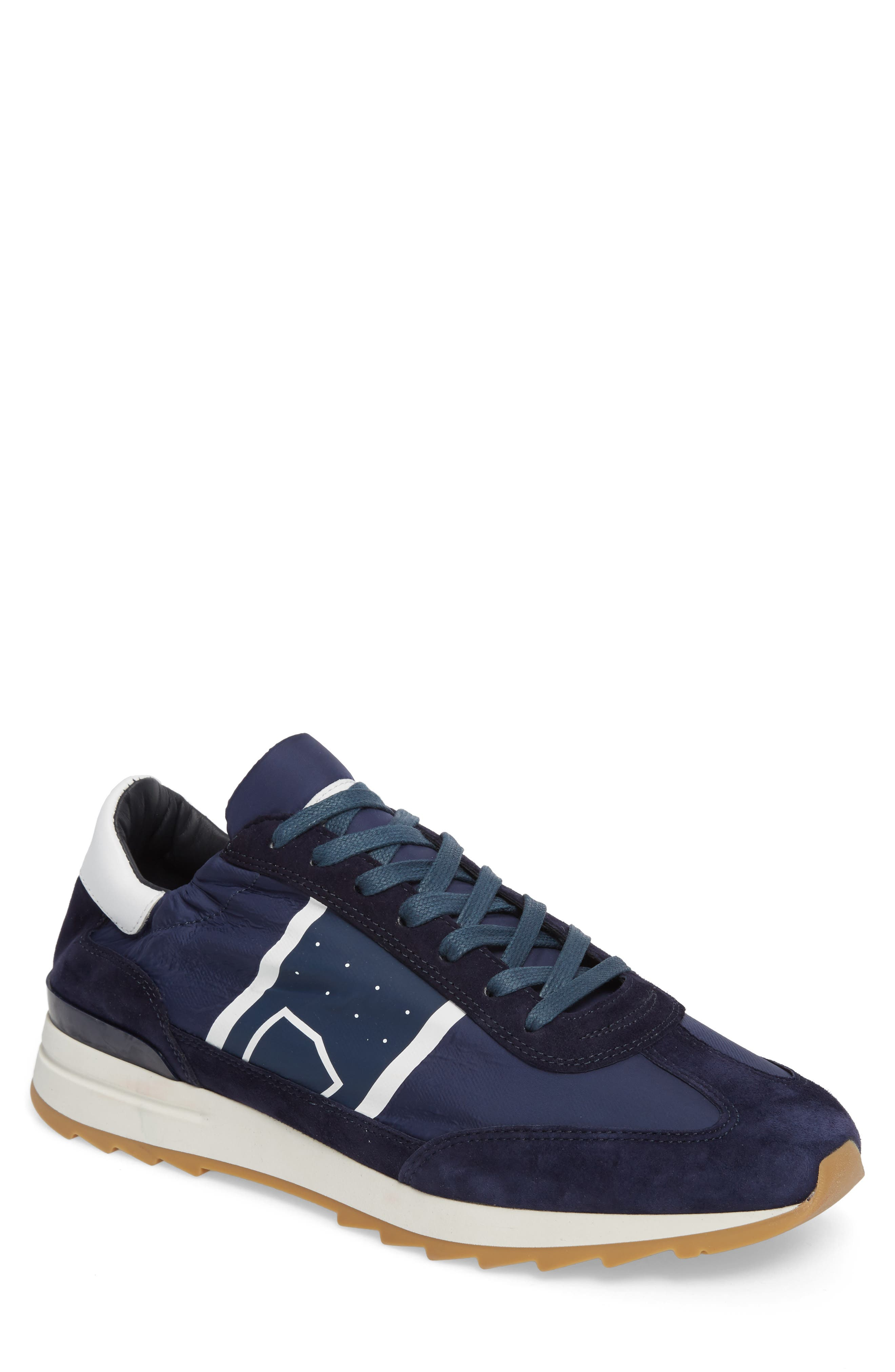 Toujours Sneaker,                             Main thumbnail 1, color,                             Blue/ Blue