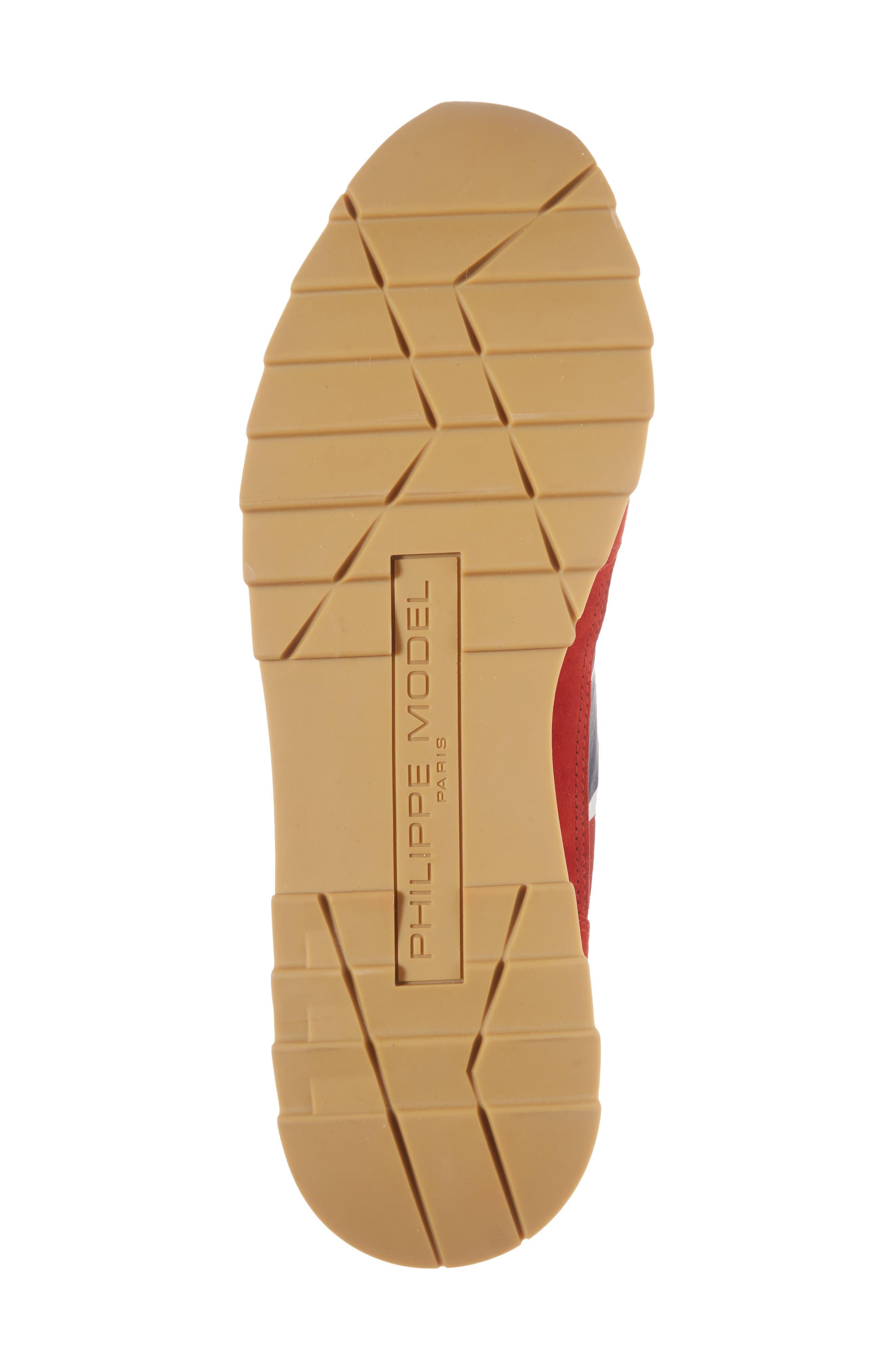 Toujours Sneaker,                             Alternate thumbnail 6, color,                             Red/ Blue